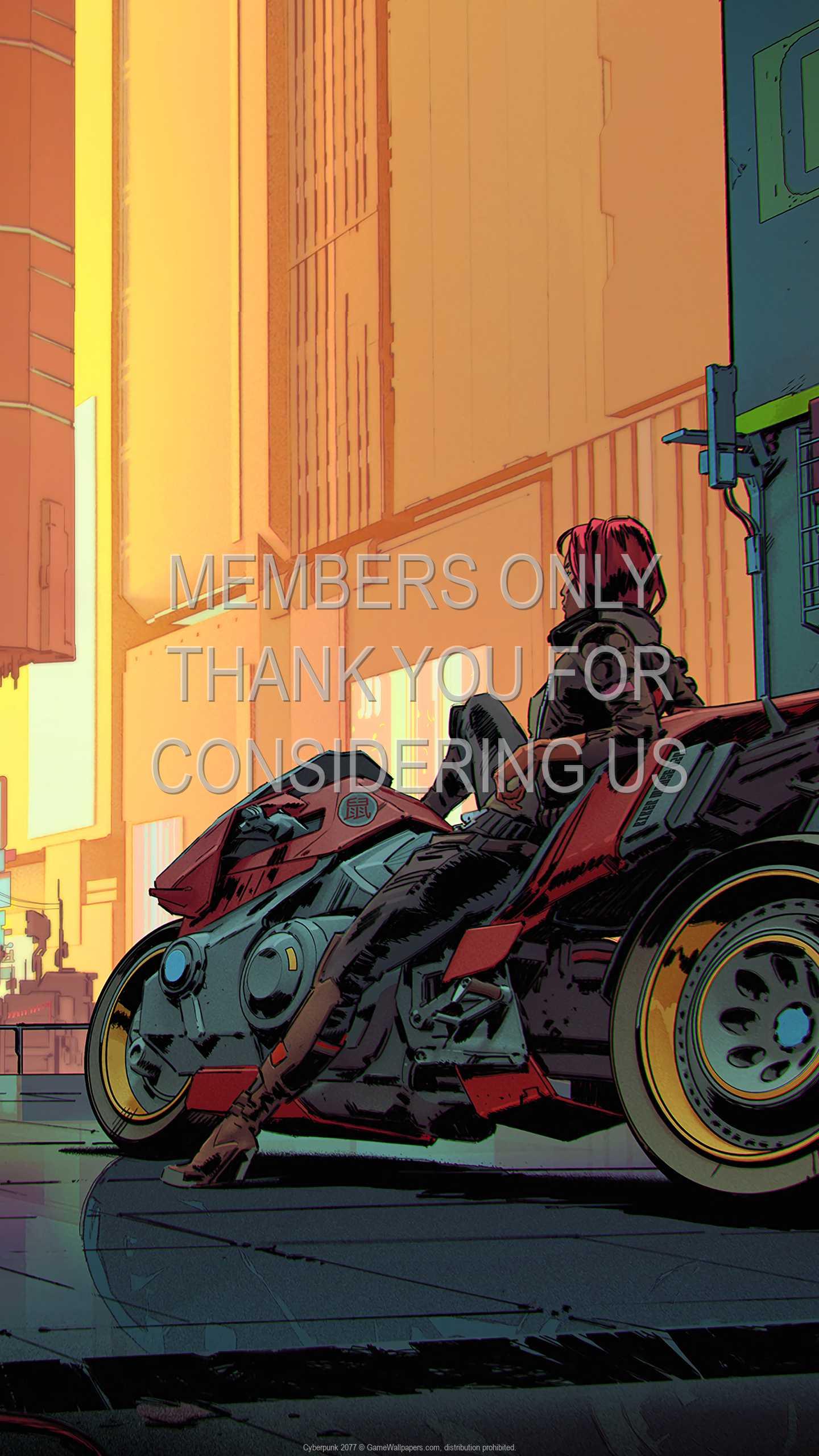 Cyberpunk 2077 1440p Vertical Mobile fond d'écran 27