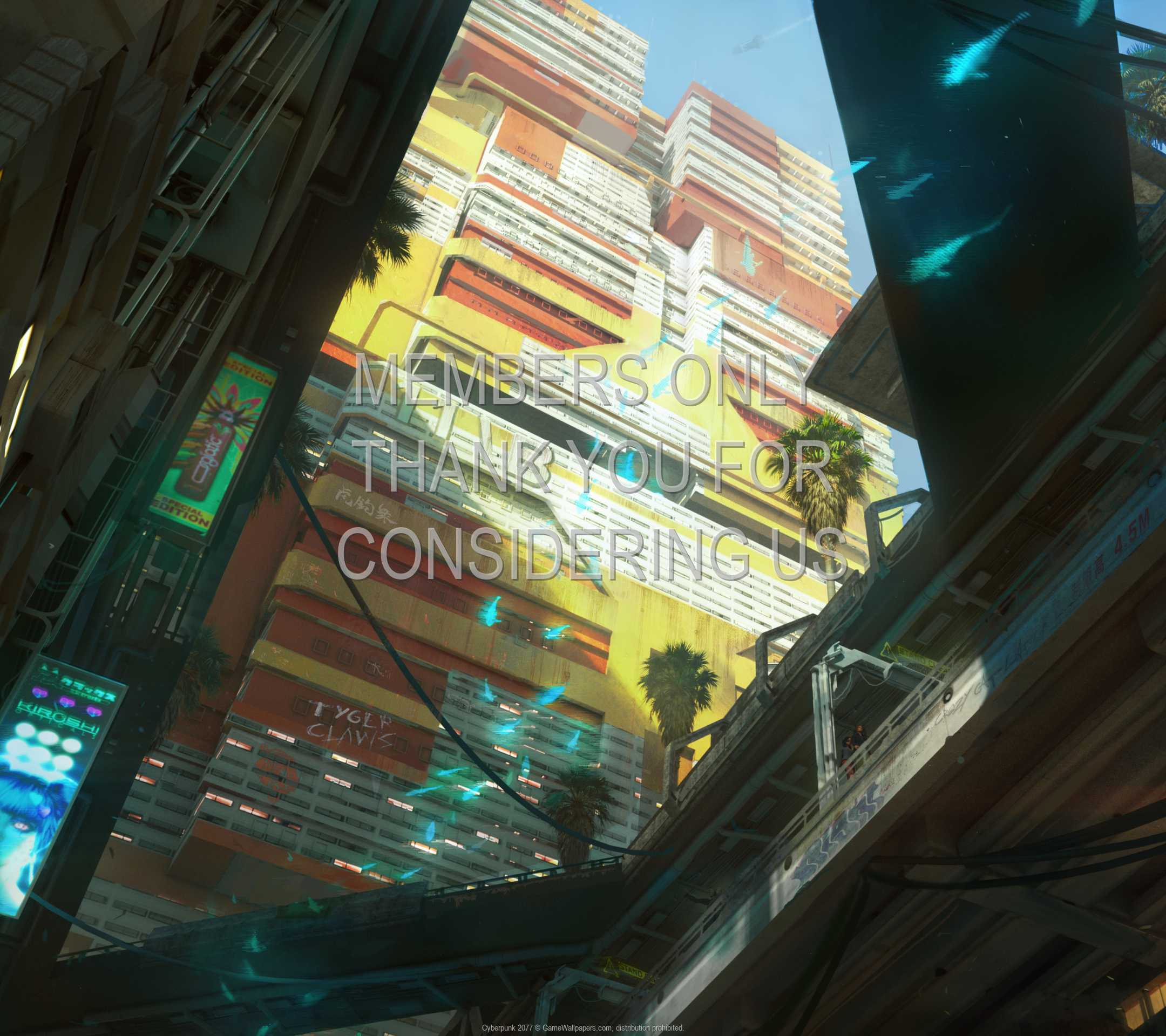 Cyberpunk 2077 1080p Horizontal Mobiele achtergrond 34