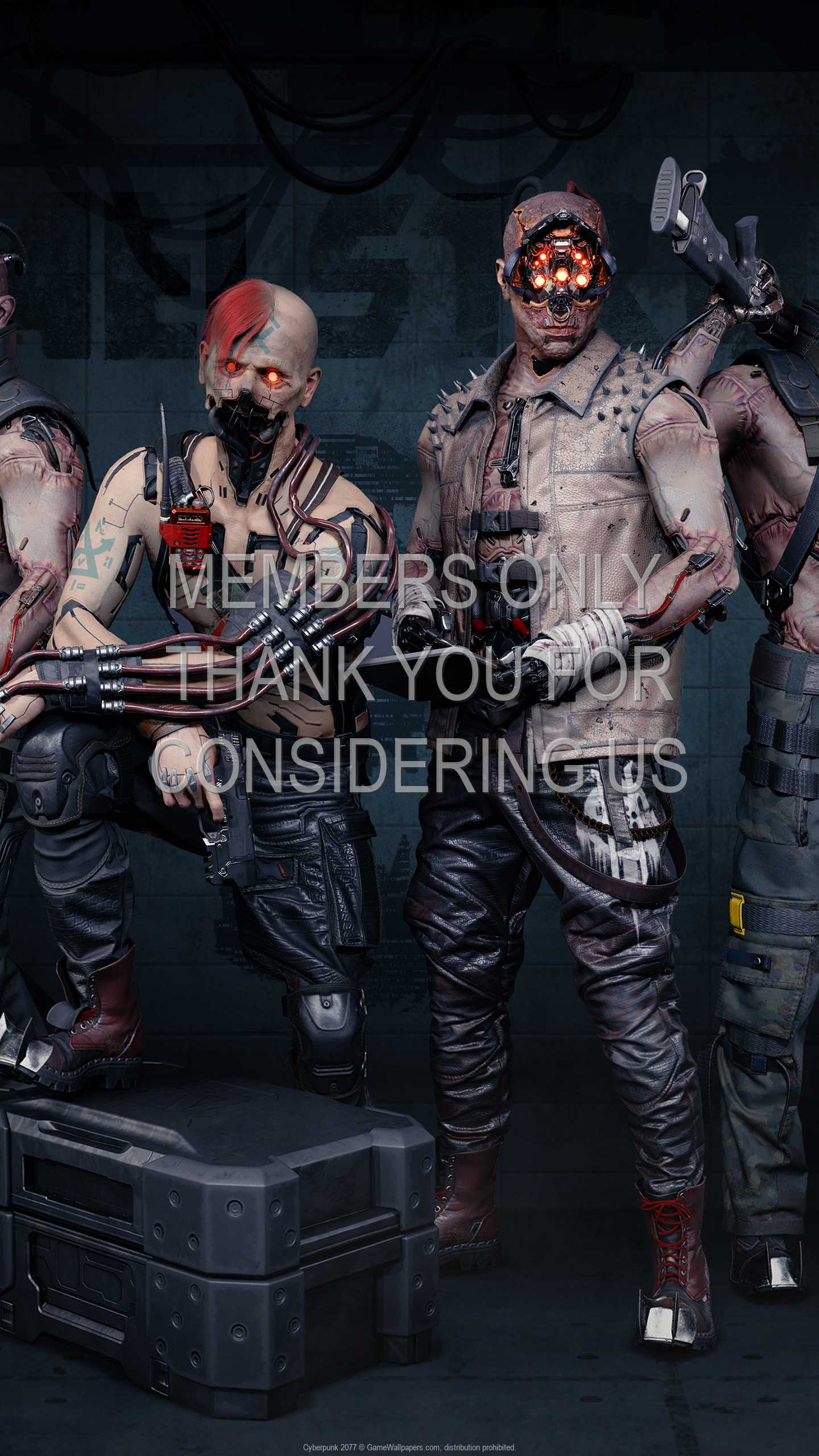 Cyberpunk 2077 1440p Vertical Mobile fond d'écran 39