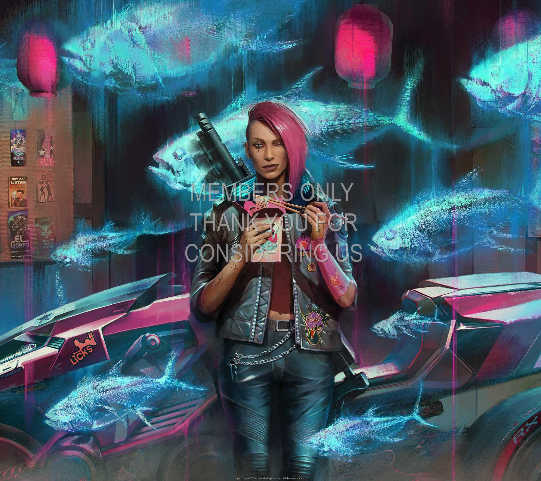 Cyberpunk 2077 1440p Horizontal Mobiele achtergrond 41