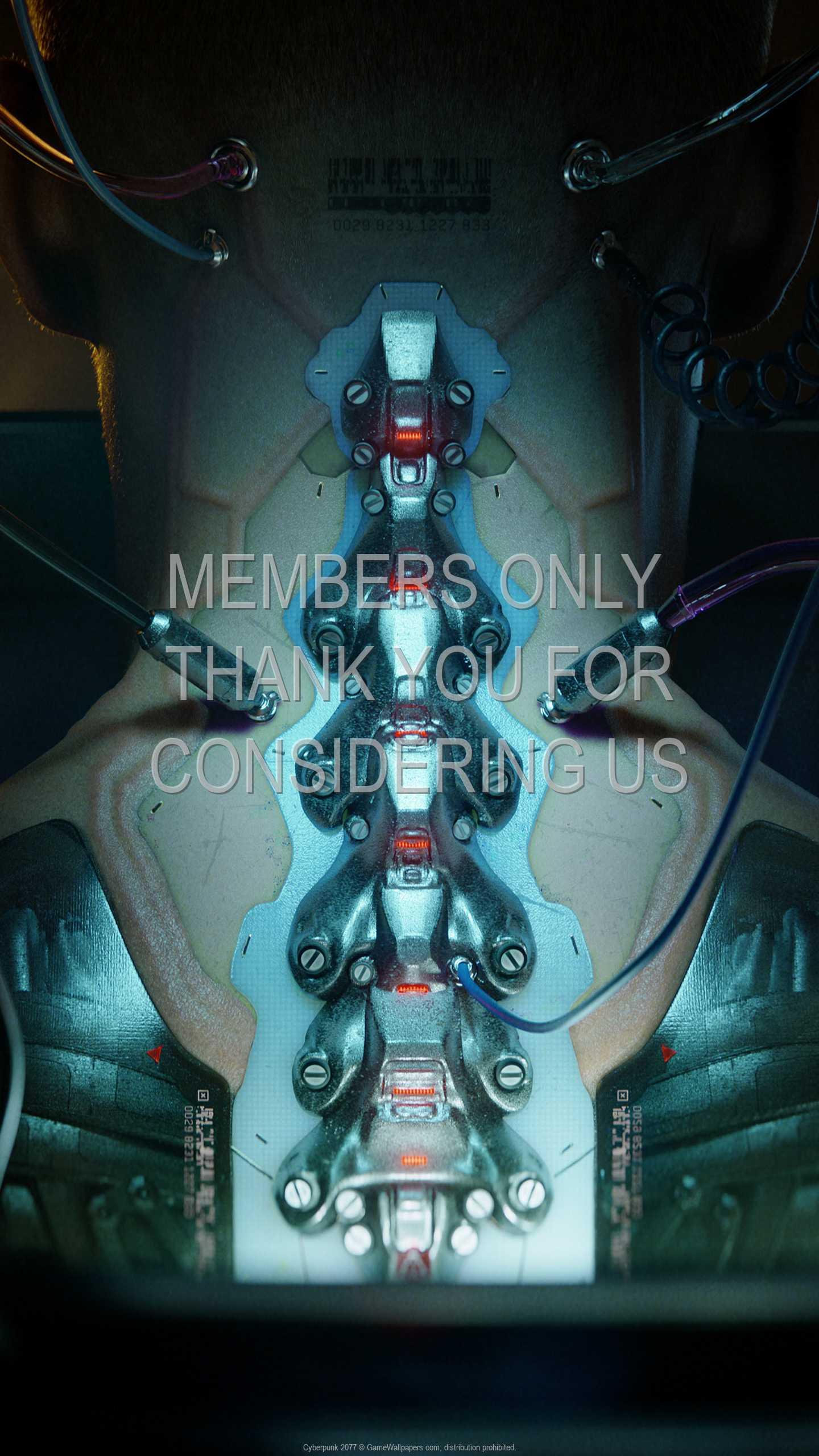 Cyberpunk 2077 1440p Vertical Mobile fond d'écran 44