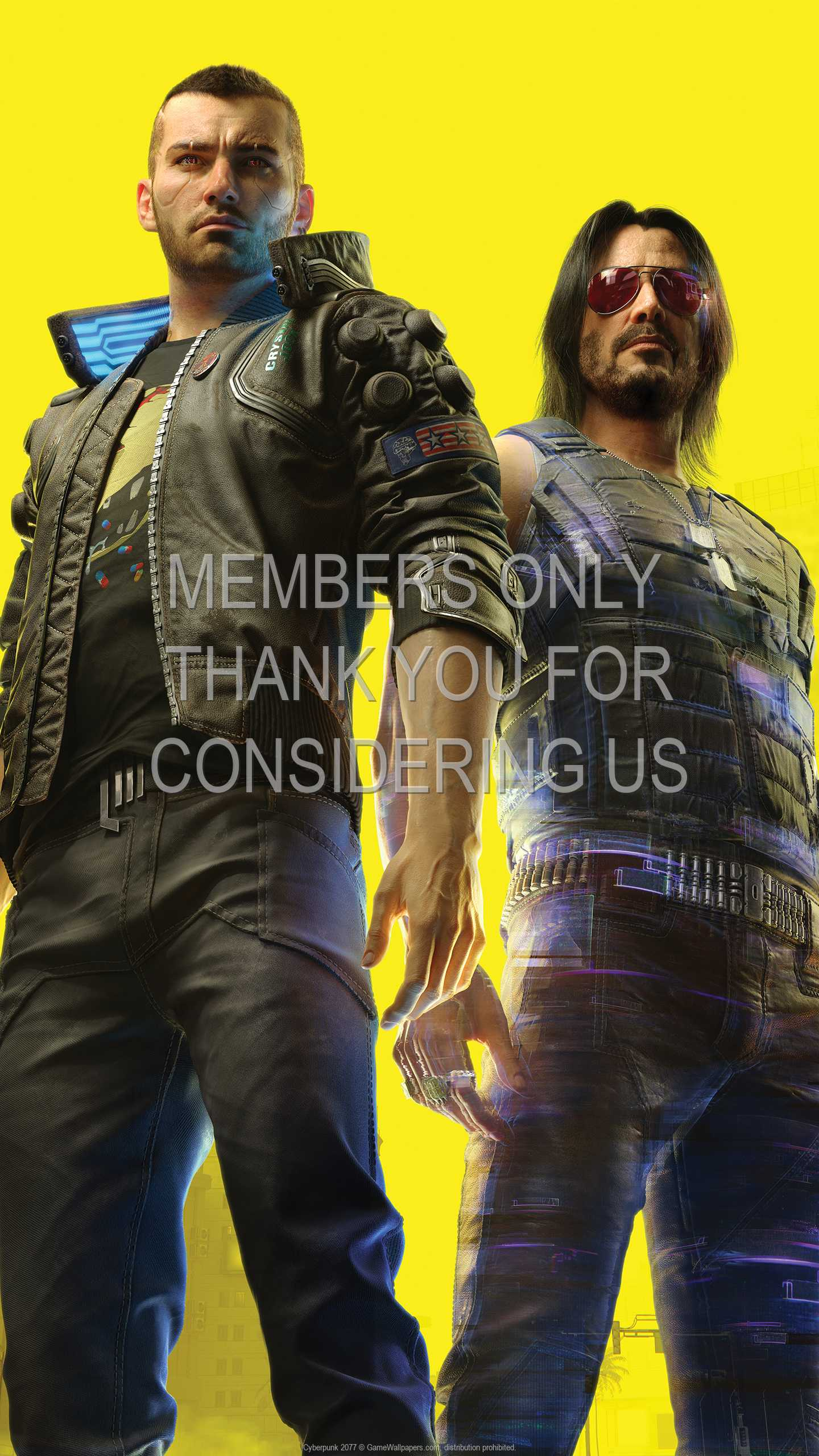 Cyberpunk 2077 1440p Vertical Mobile wallpaper or background 46
