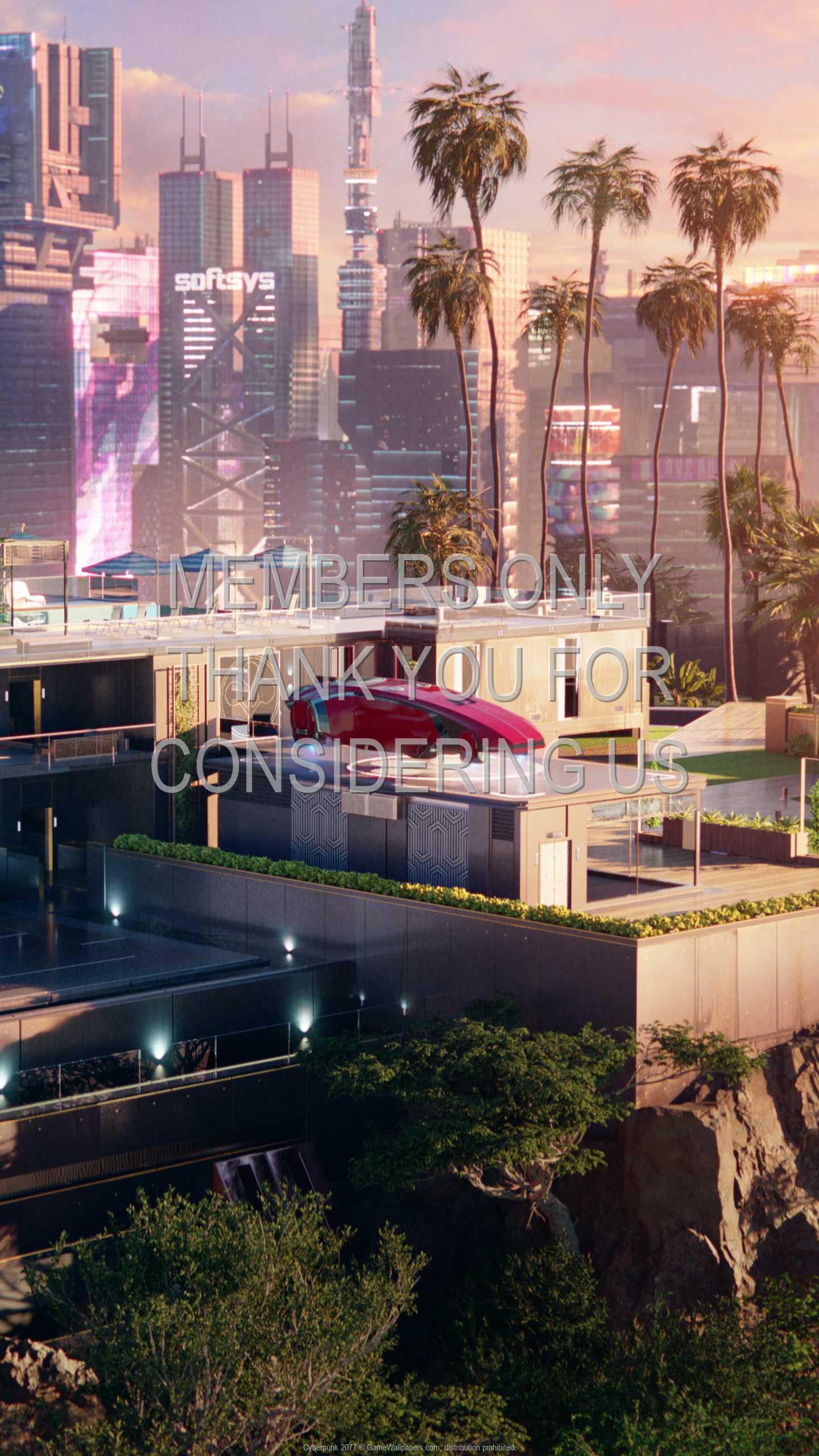 Cyberpunk 2077 1440p Vertical Mobile fond d'écran 50