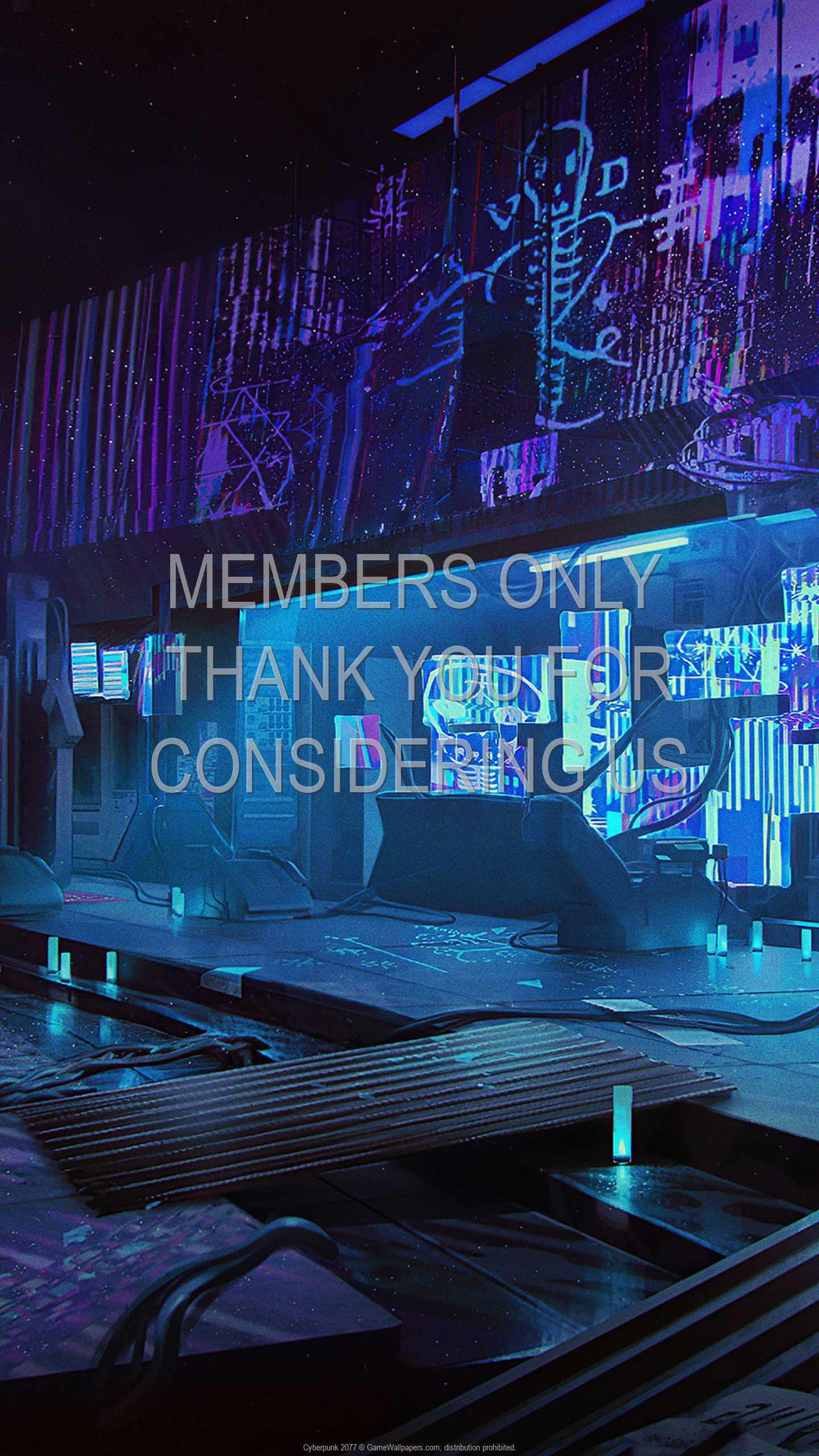 Cyberpunk 2077 1440p Vertical Handy Hintergrundbild 60