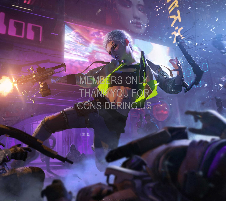 Cyberpunk 2077 fan art 1440p Horizontal Mobile wallpaper or background 03