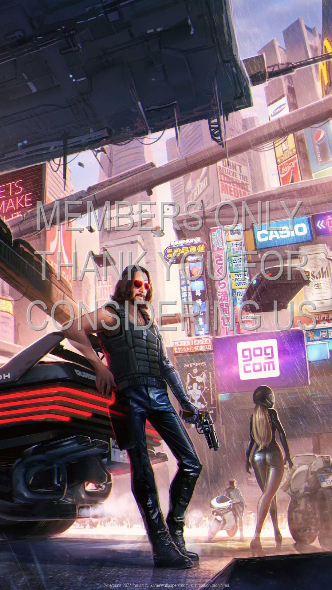 Cyberpunk 2077 fan art 1080p Vertical Mobile wallpaper or background 04
