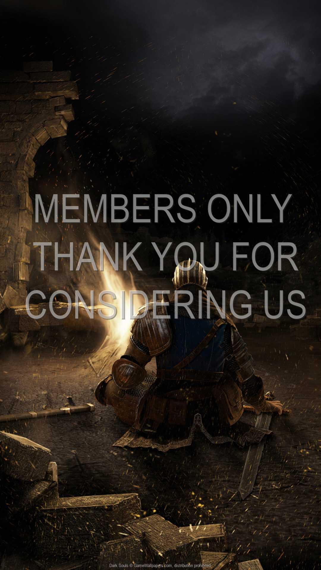 Dark Souls 1080p Vertical Handy Hintergrundbild 01