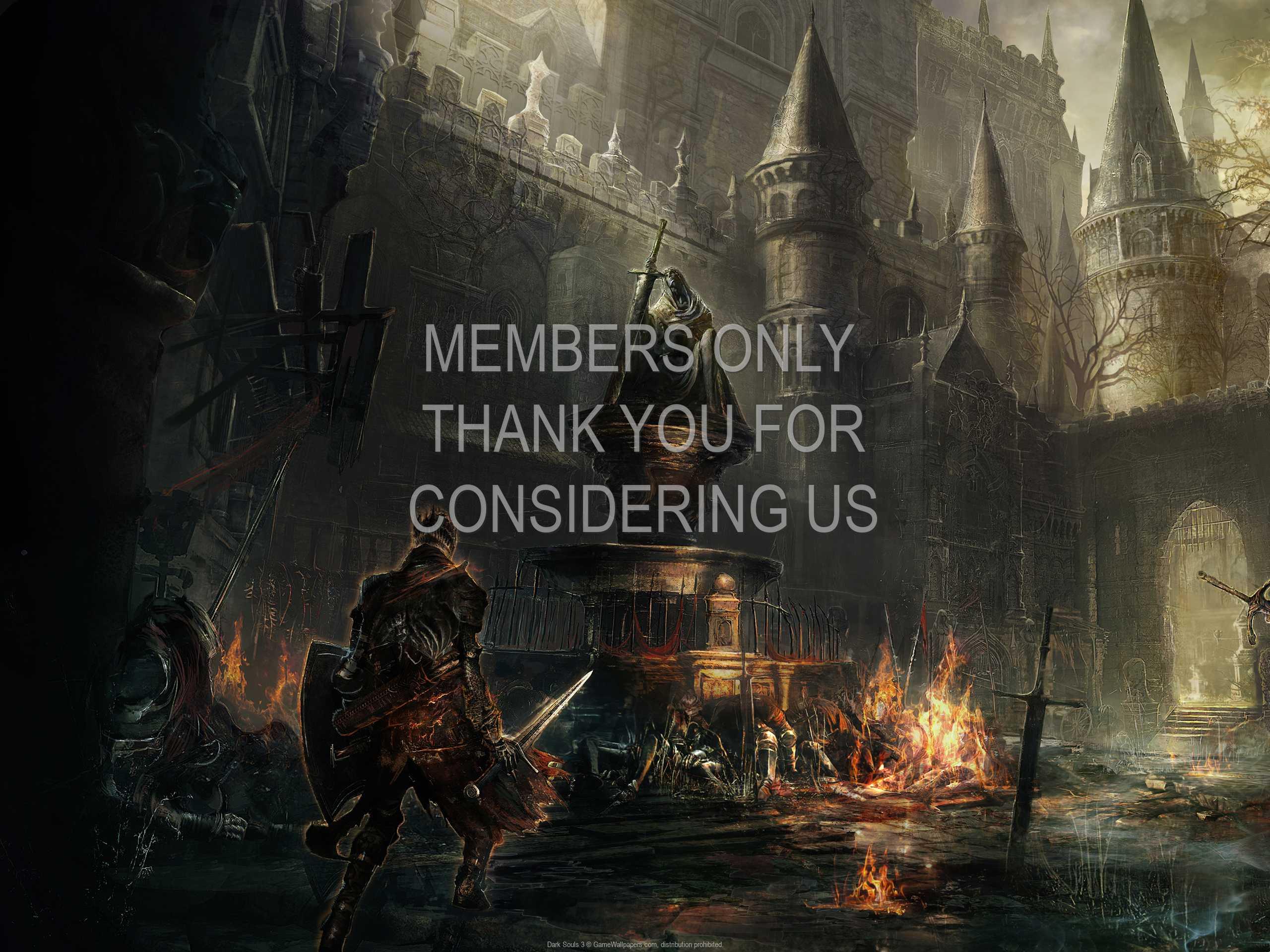 Dark Souls 3 1080p Horizontal Handy Hintergrundbild 01