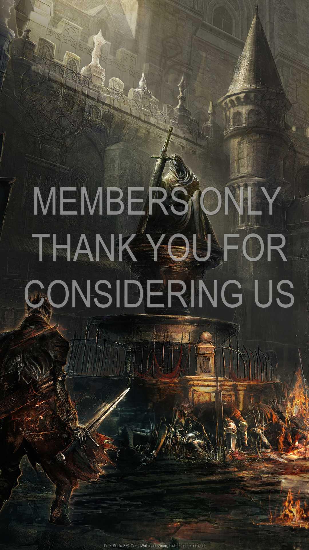 Dark Souls 3 1080p Vertical Handy Hintergrundbild 01
