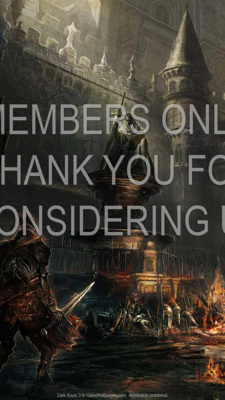 Dark Souls 3 720p Vertical Handy Hintergrundbild 01