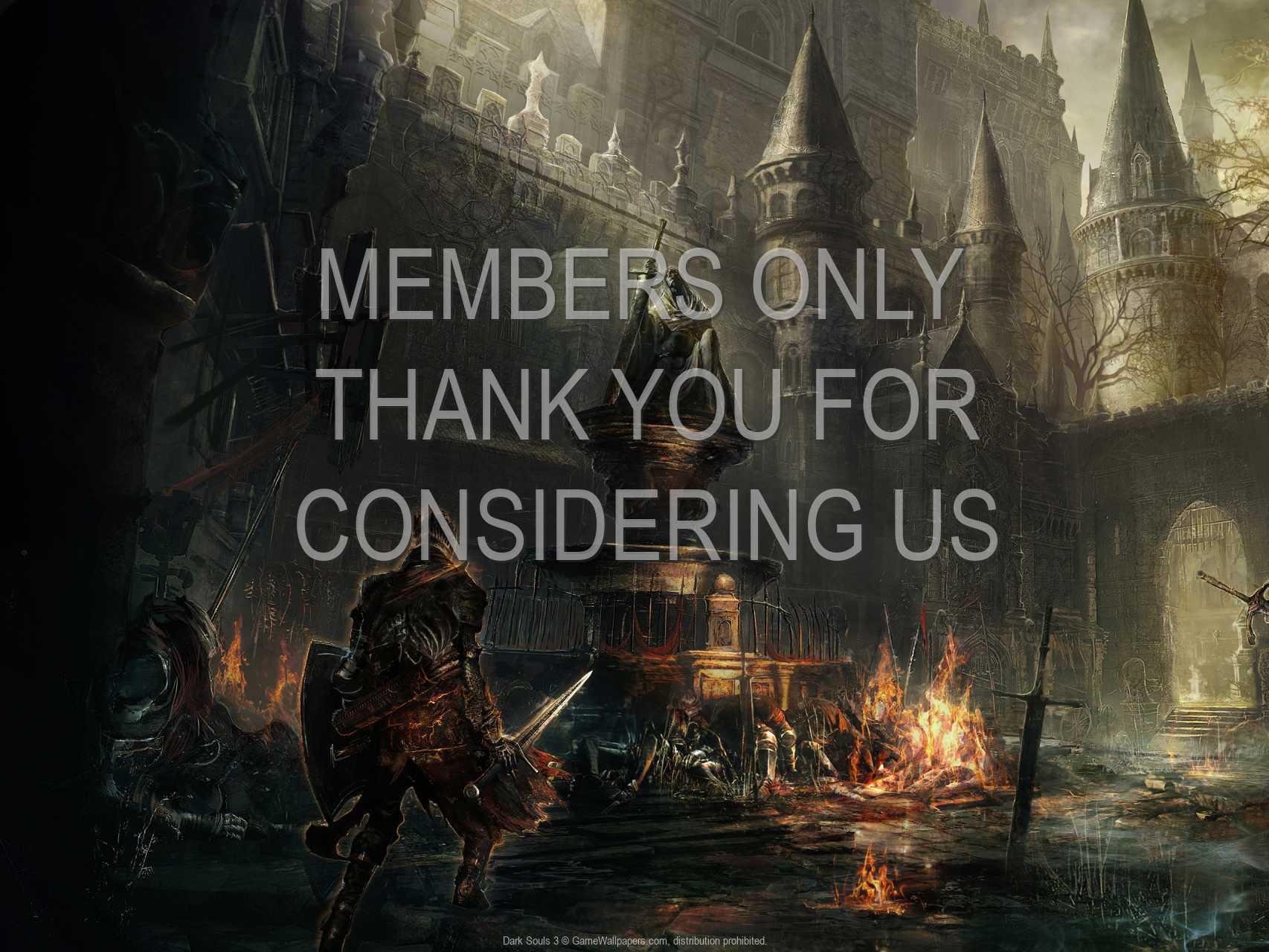 Dark Souls 3 720p Horizontal Handy Hintergrundbild 01