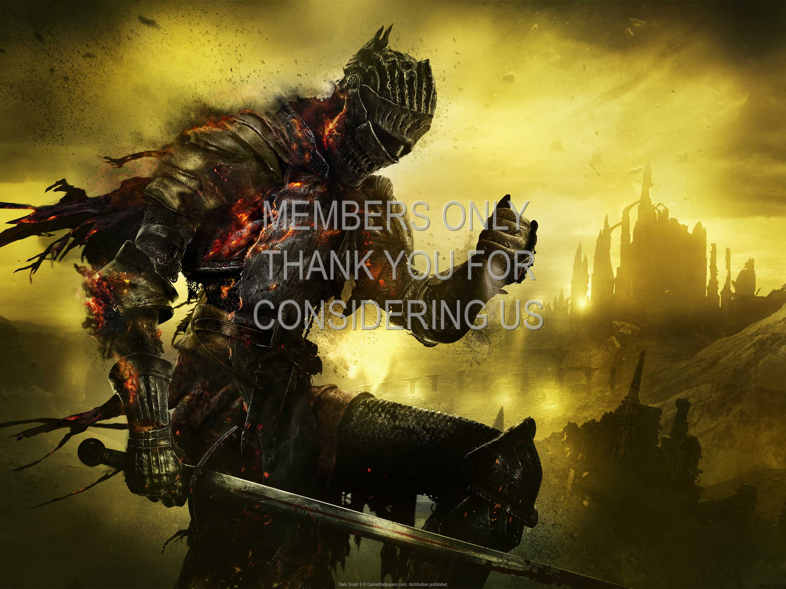 Dark Souls 3 1080p Horizontal Handy Hintergrundbild 07