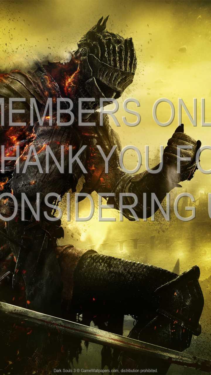 Dark Souls 3 720p Vertical Handy Hintergrundbild 07