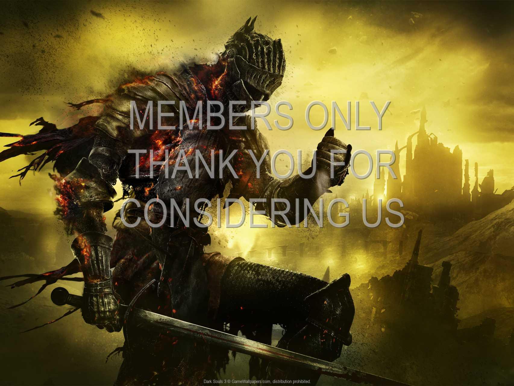 Dark Souls 3 720p Horizontal Handy Hintergrundbild 07