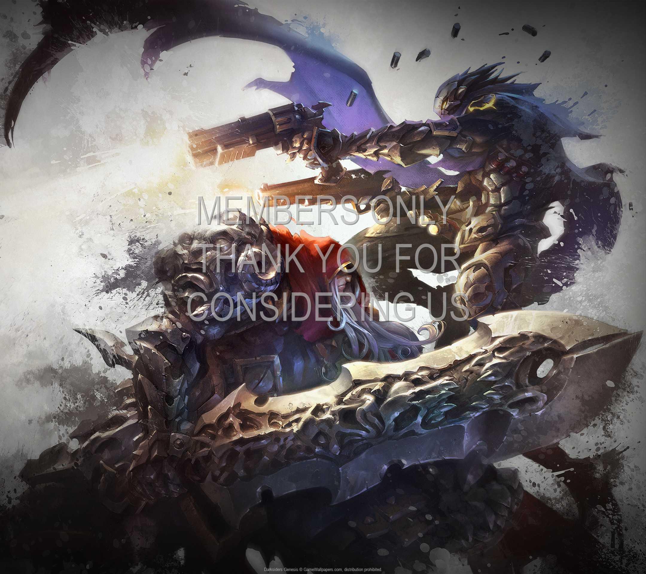 Darksiders: Genesis 1080p Horizontal Móvil fondo de escritorio 02