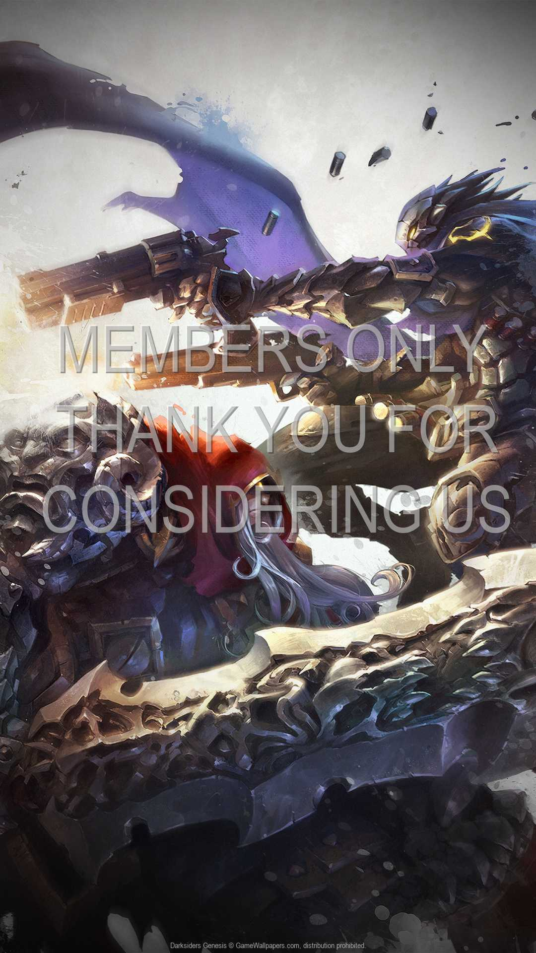 Darksiders: Genesis 1080p Vertical Mobiele achtergrond 02