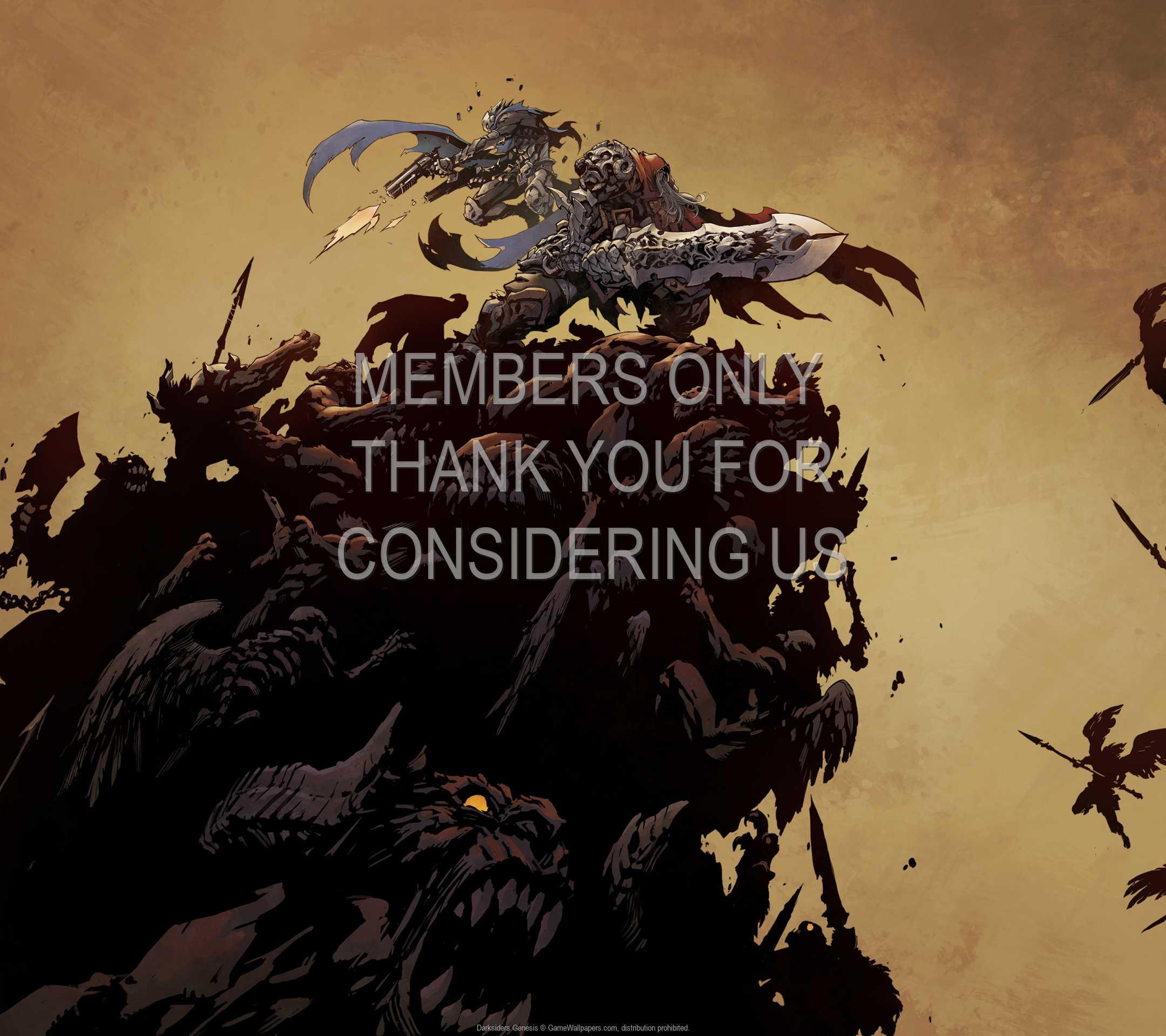 Darksiders: Genesis 1080p Horizontal Handy Hintergrundbild 03