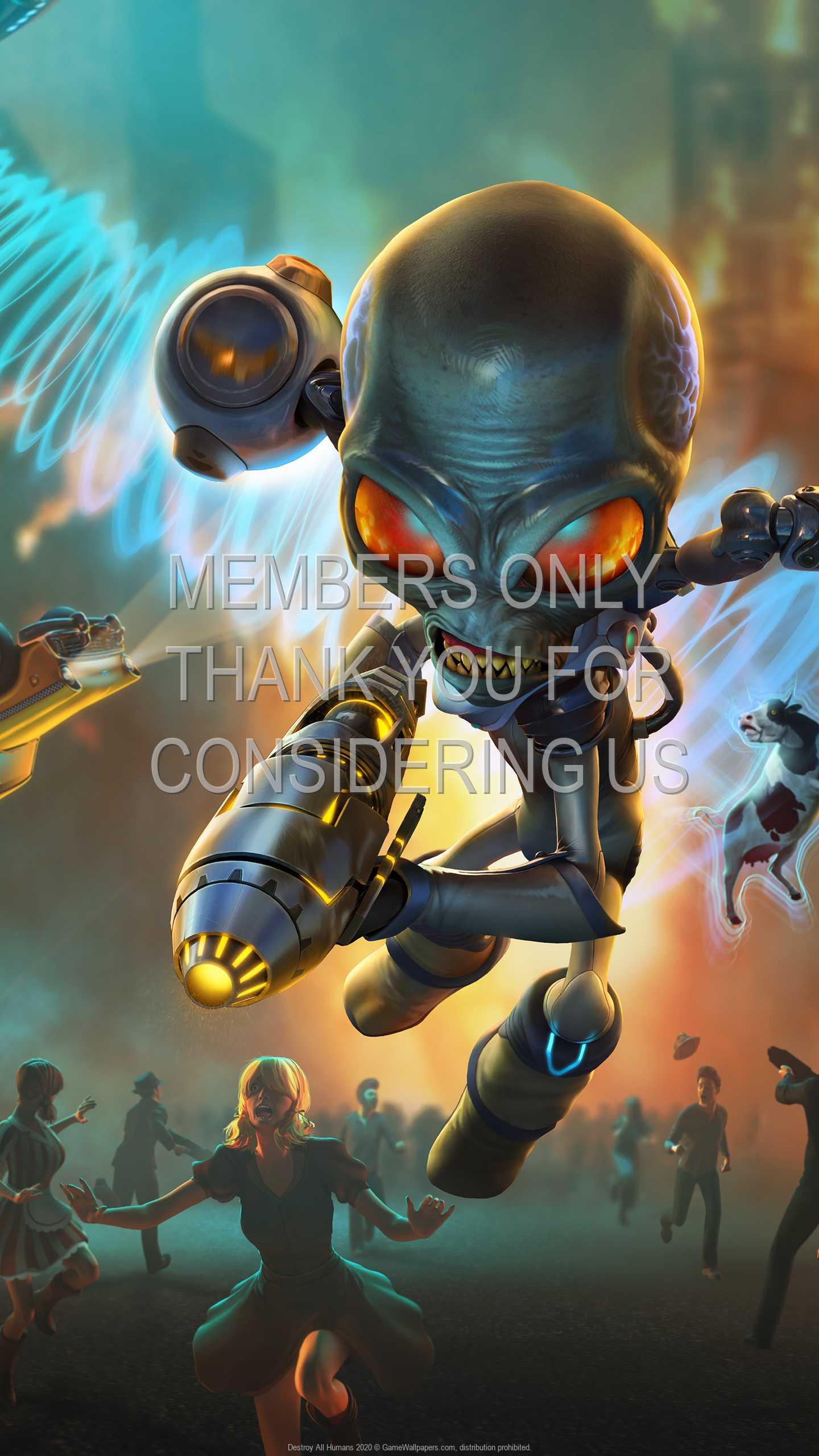 Destroy All Humans 2020 1440p Vertical Mobile wallpaper or background 01