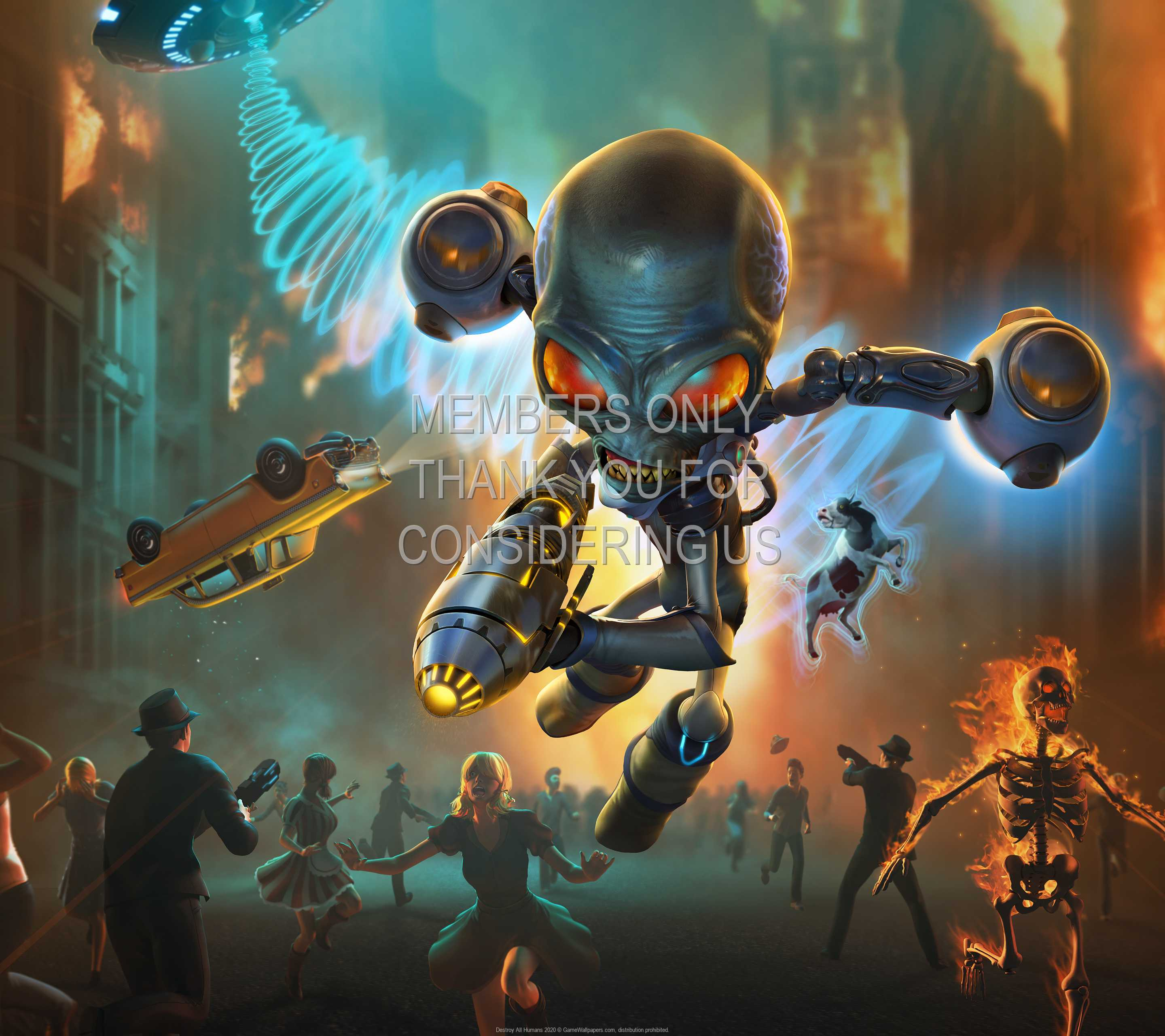 Destroy All Humans 2020 1440p Horizontal Mobile wallpaper or background 01