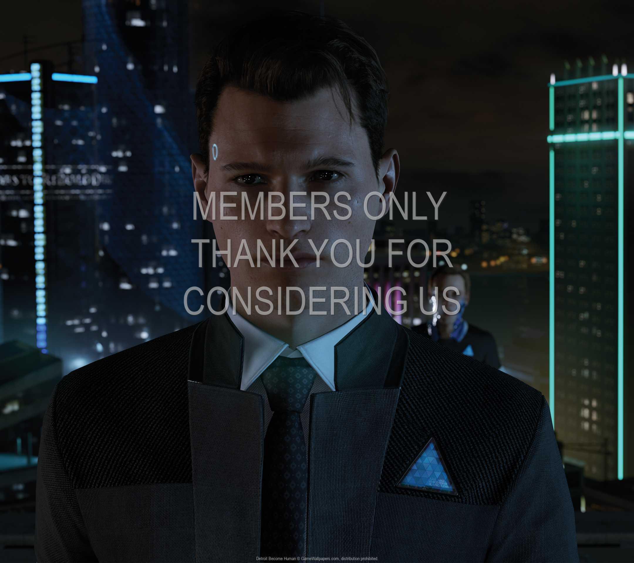 Detroit: Become Human 1080p Horizontal Móvil fondo de escritorio 02