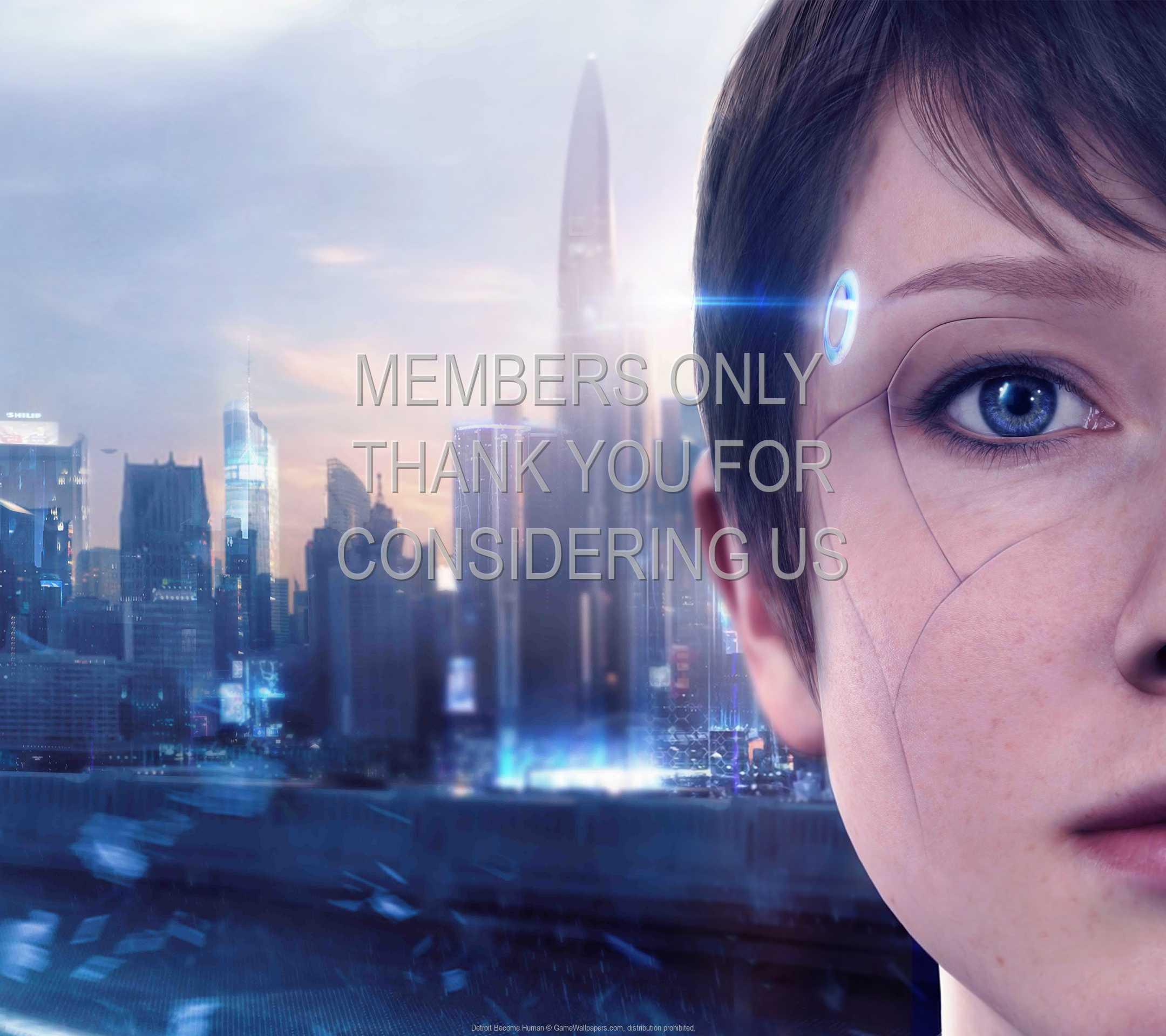 Detroit: Become Human 1080p Horizontal Móvil fondo de escritorio 04