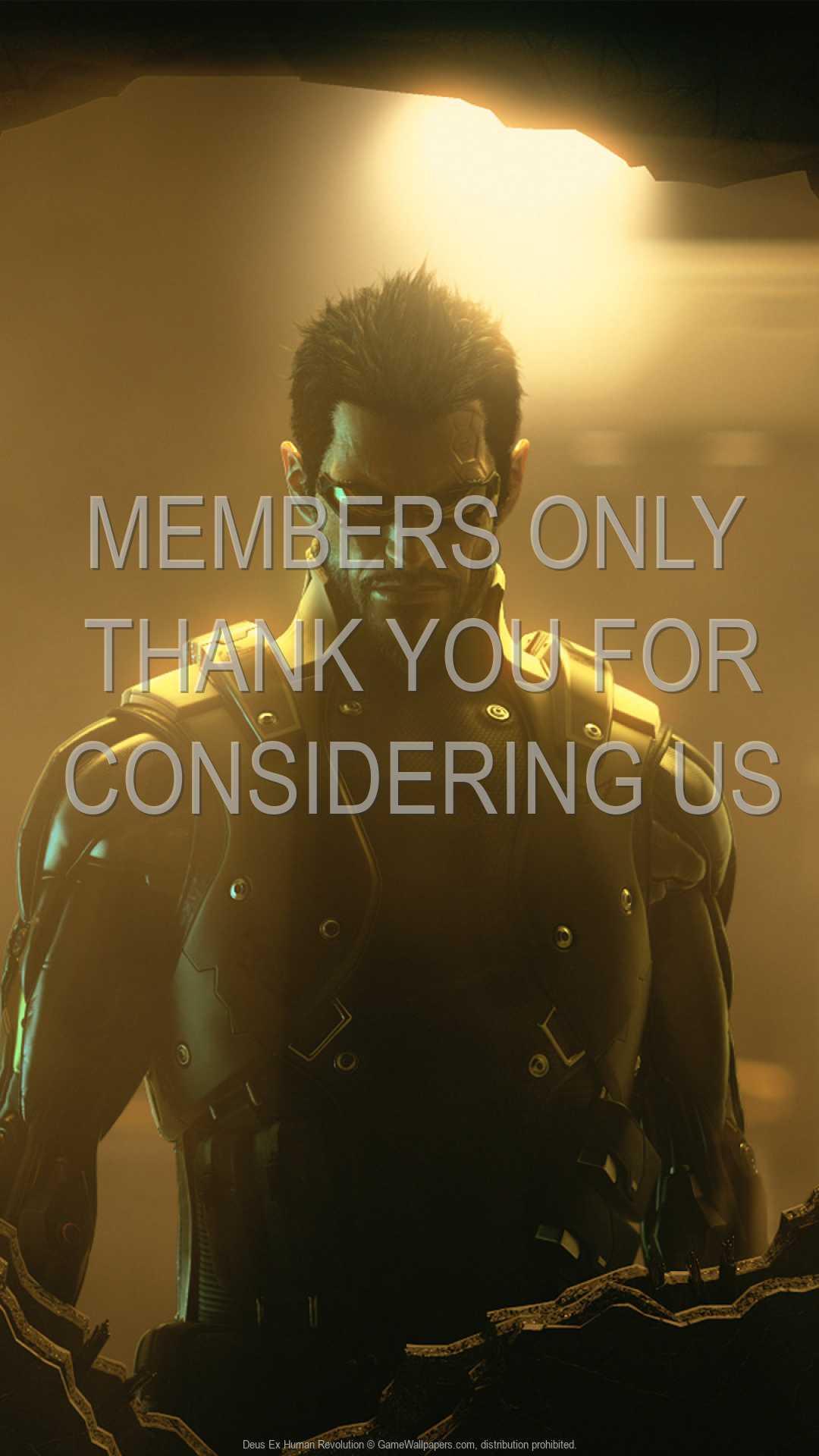 Deus Ex: Human Revolution 1080p Vertical Handy Hintergrundbild 04