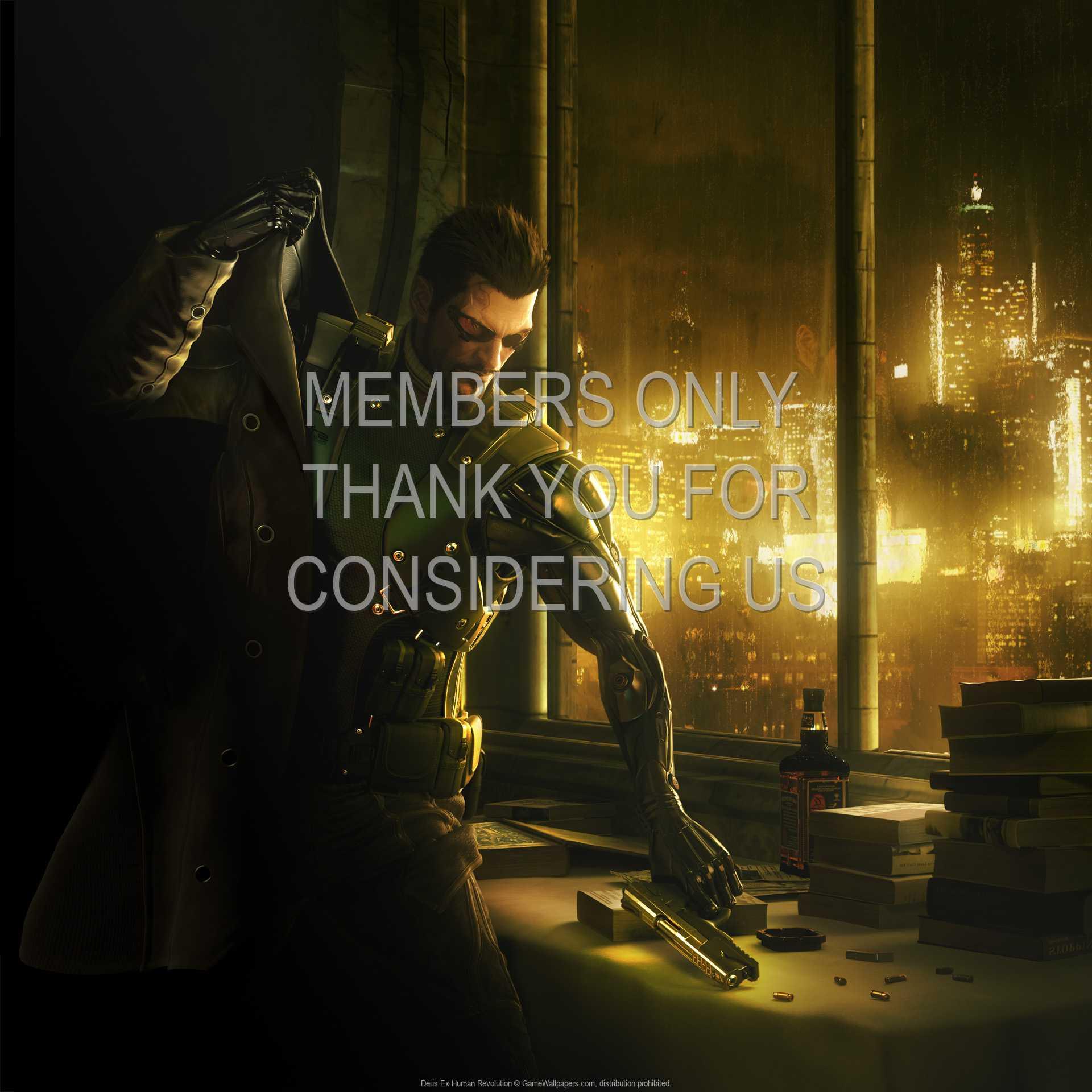 Deus Ex: Human Revolution 1080p Horizontal Handy Hintergrundbild 05