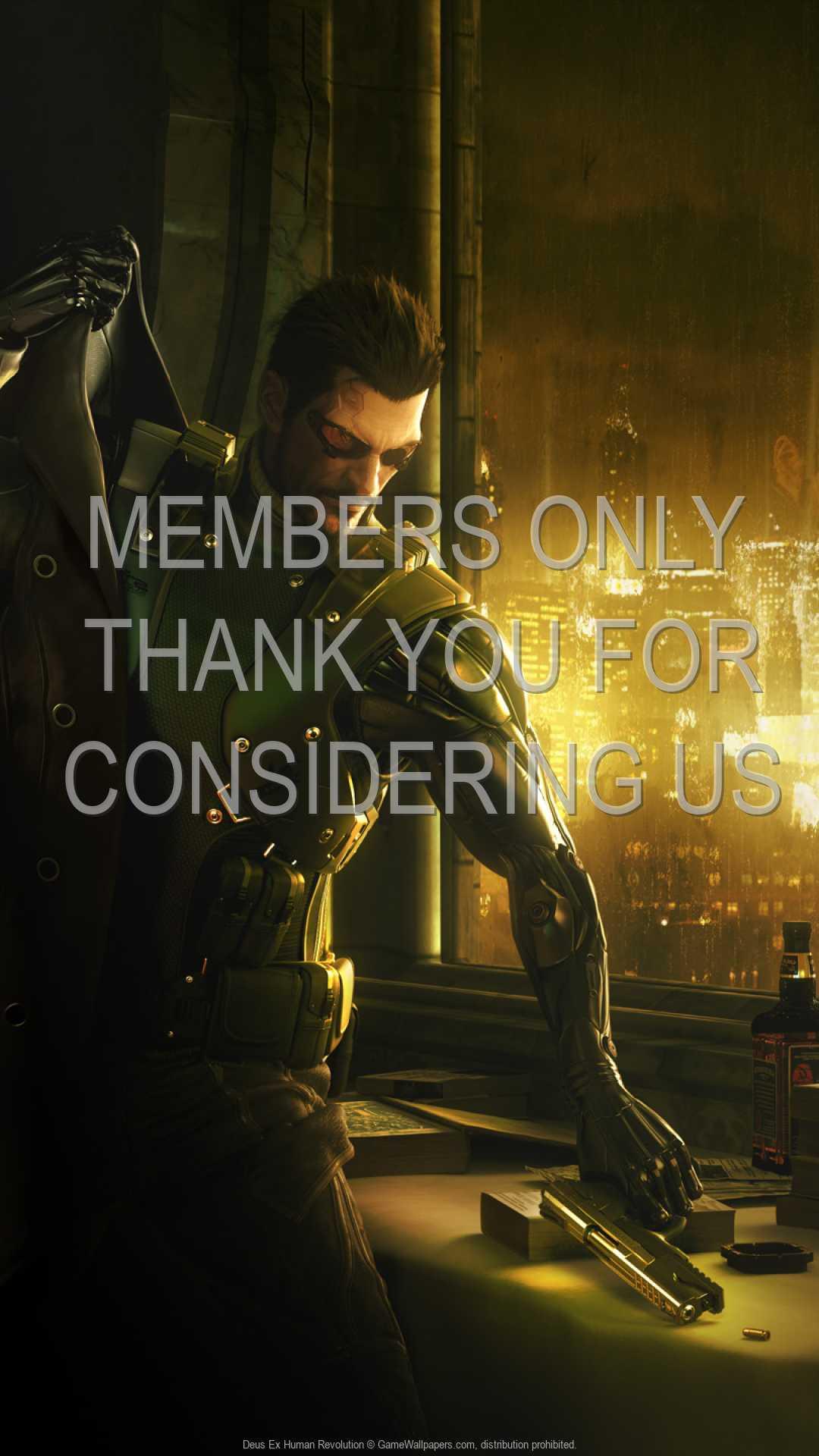 Deus Ex: Human Revolution 1080p Vertical Handy Hintergrundbild 05