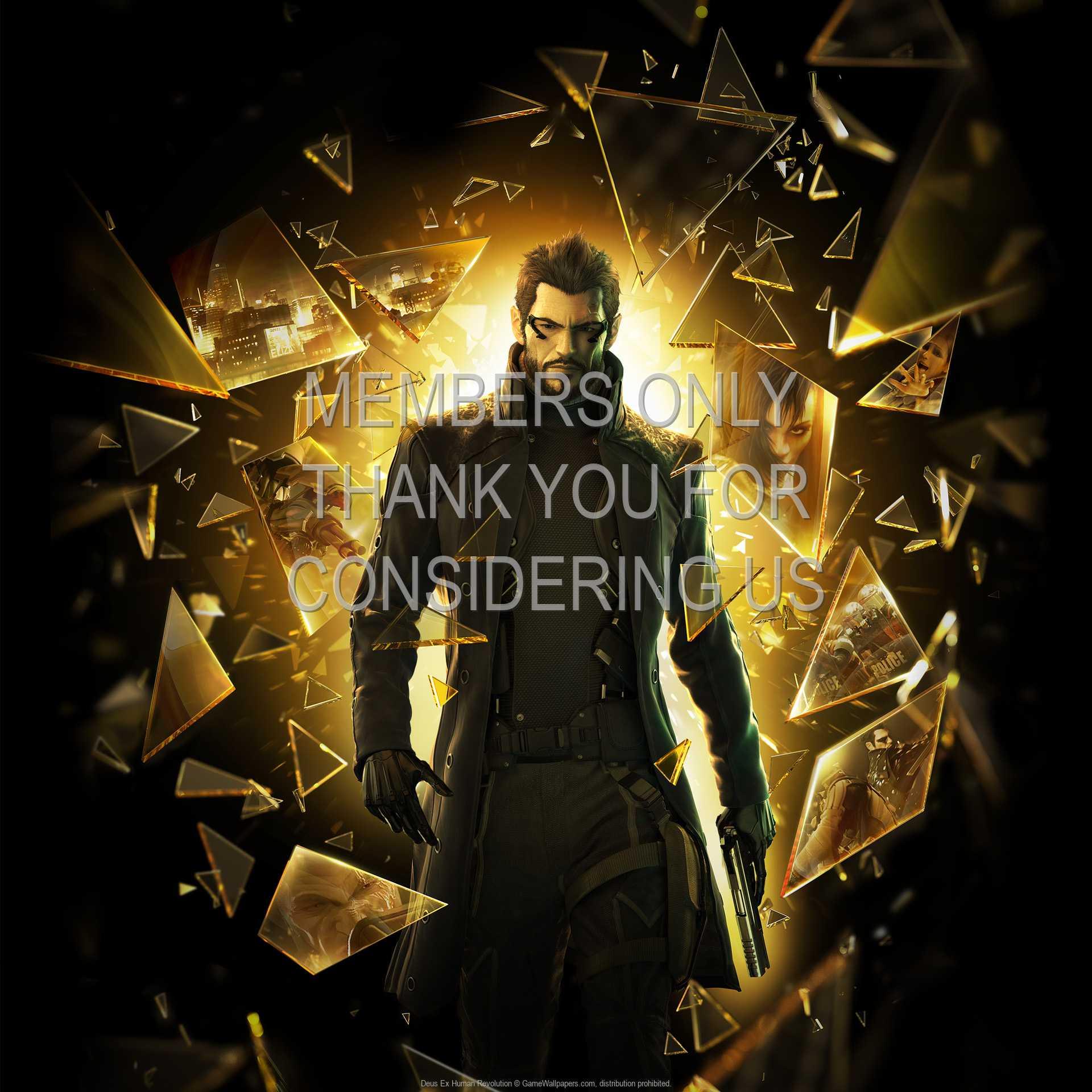 Deus Ex: Human Revolution 1080p Horizontal Handy Hintergrundbild 08