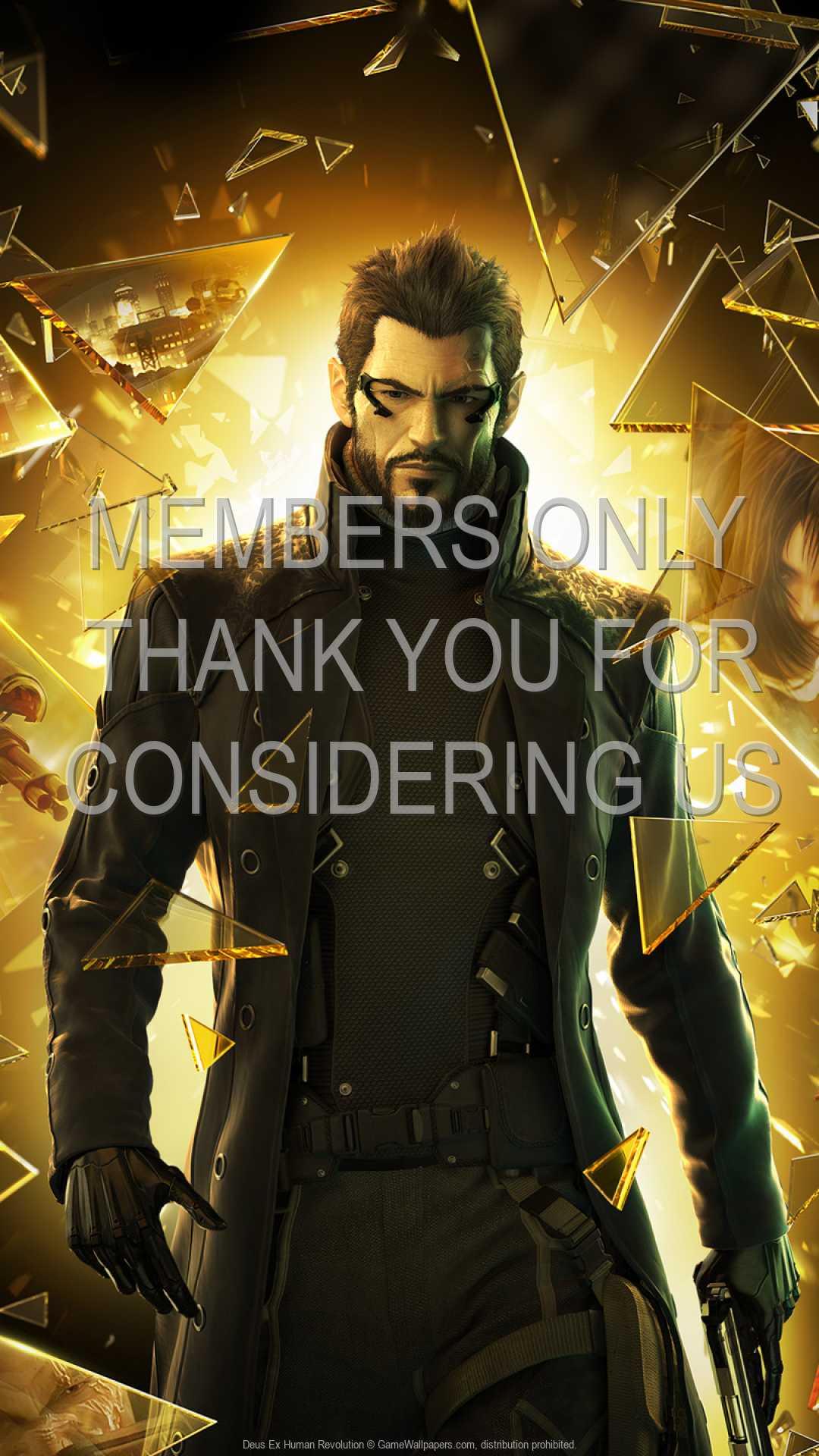 Deus Ex: Human Revolution 1080p Vertical Mobile fond d'écran 08