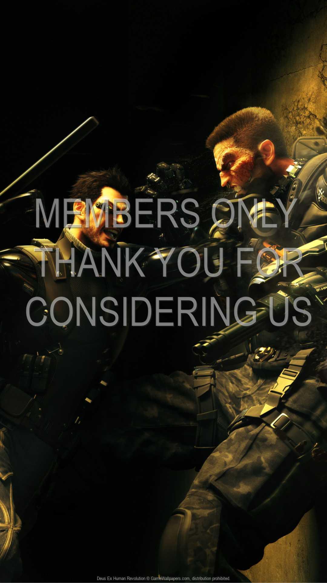 Deus Ex: Human Revolution 1080p Vertical Handy Hintergrundbild 13