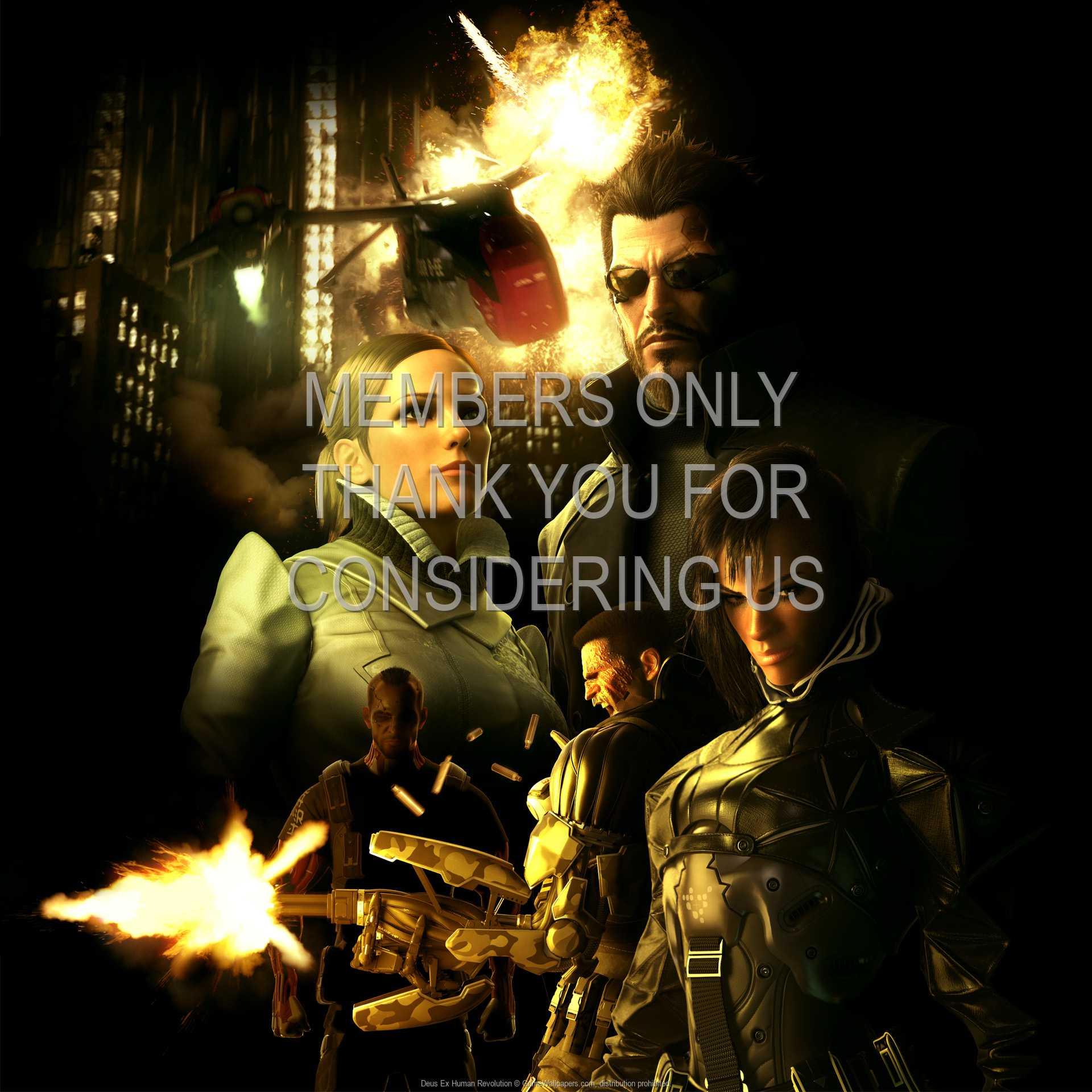 Deus Ex: Human Revolution 1080p Horizontal Handy Hintergrundbild 16