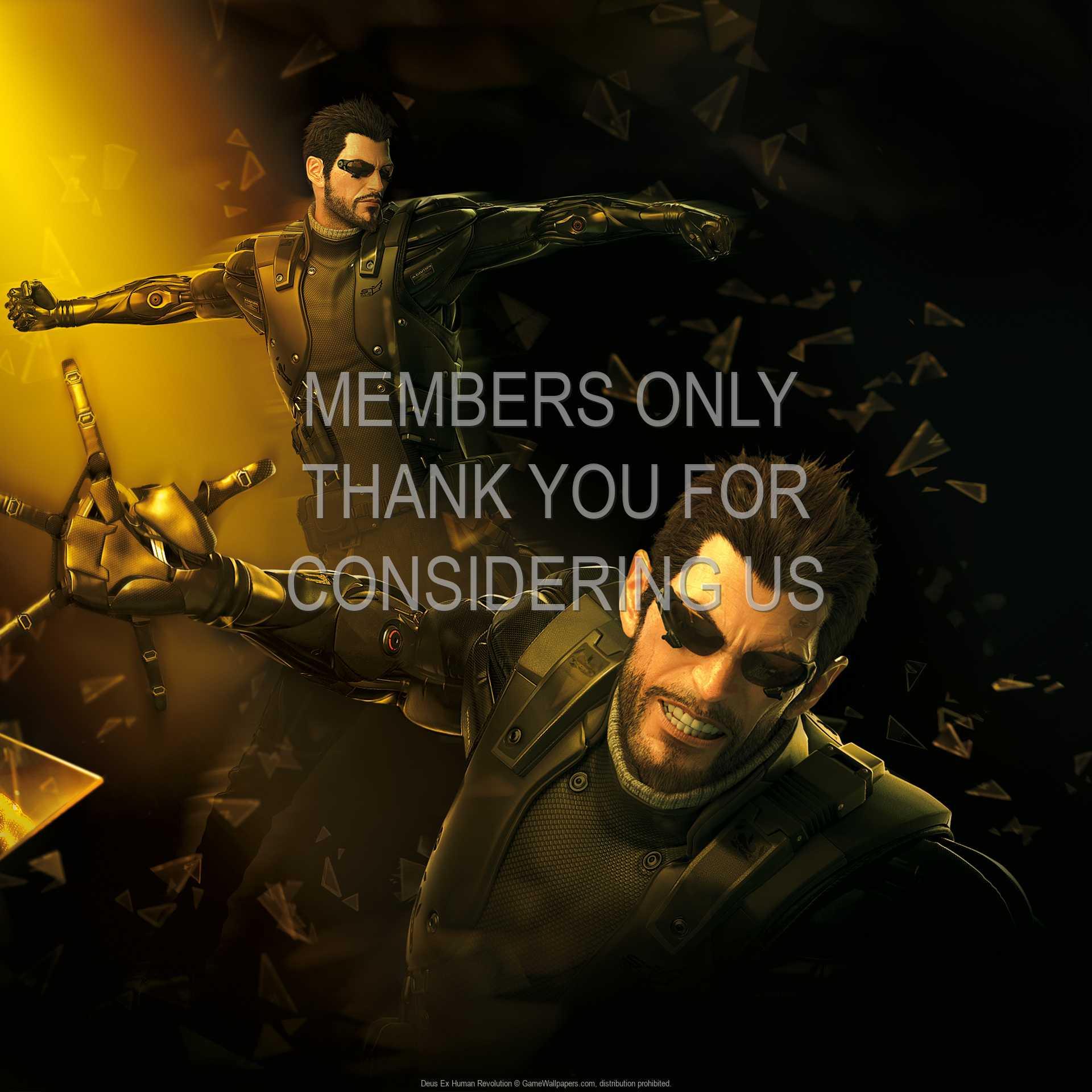 Deus Ex: Human Revolution 1080p Horizontal Handy Hintergrundbild 17