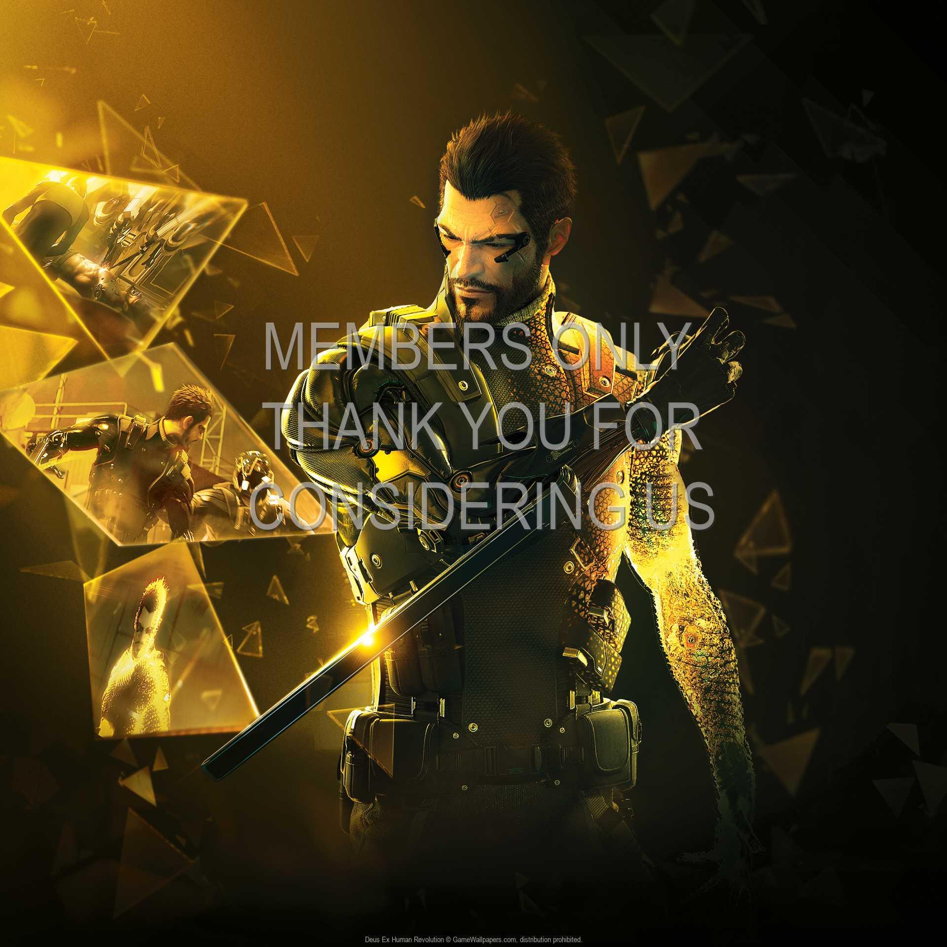 Deus Ex: Human Revolution 1080p Horizontal Handy Hintergrundbild 18