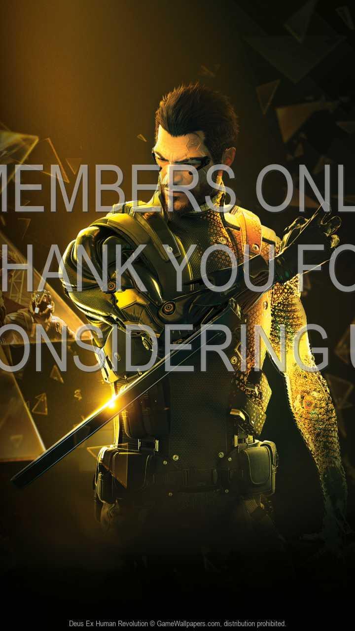 Deus Ex: Human Revolution 720p Vertical Handy Hintergrundbild 18