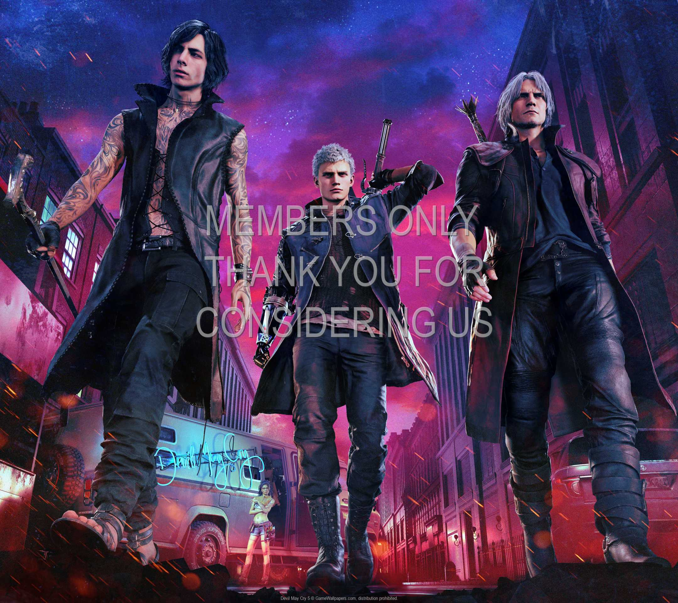 Devil May Cry 5 1080p Horizontal Mobile wallpaper or background 01