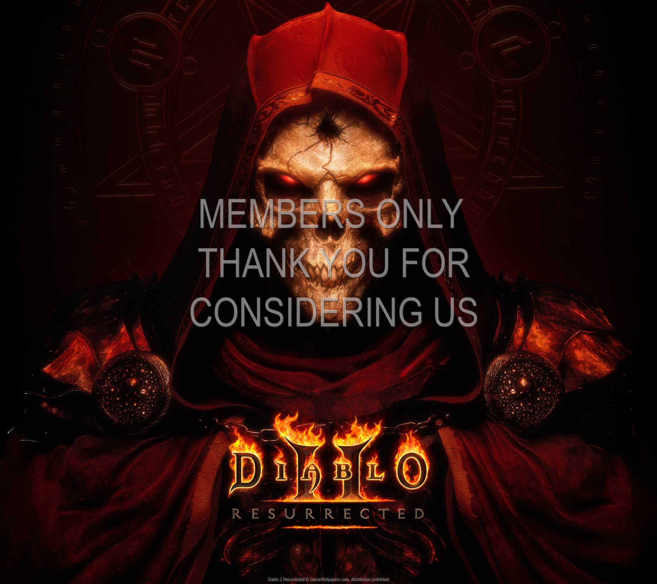 Diablo 2: Resurrected 1080p Horizontal Handy Hintergrundbild 01