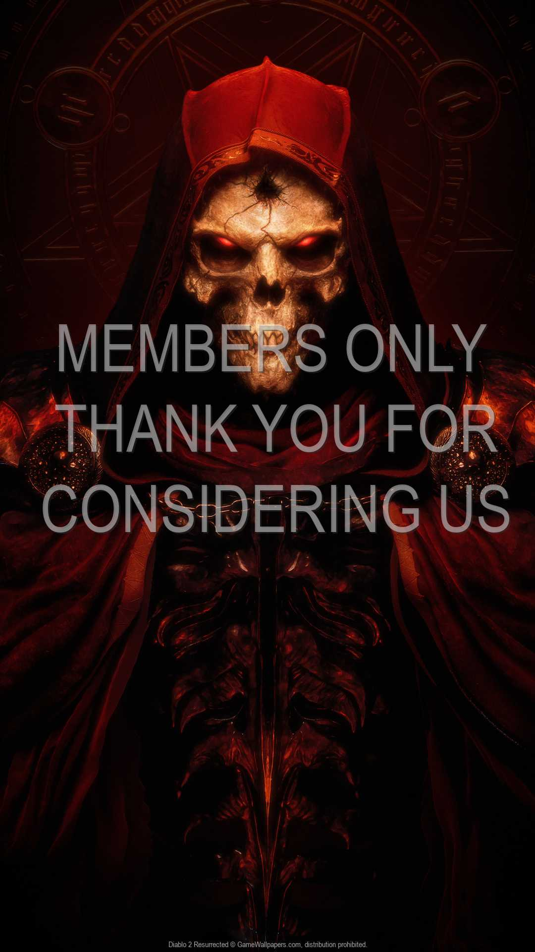 Diablo 2: Resurrected 1080p Vertical Handy Hintergrundbild 02