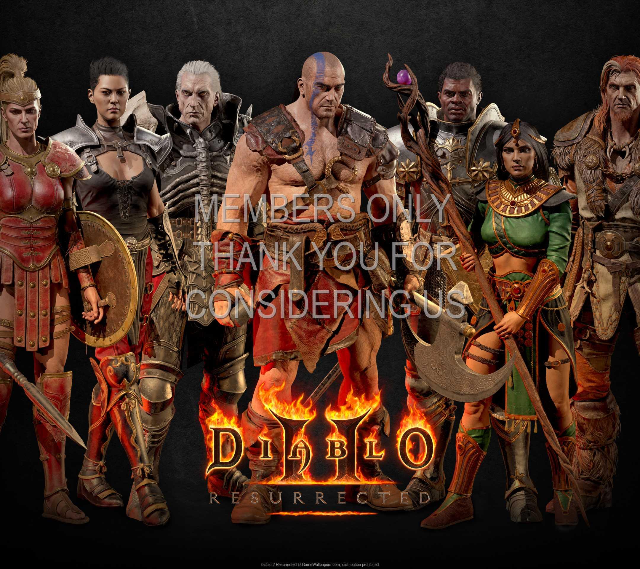 Diablo 2: Resurrected 1080p Horizontal Mobile wallpaper or background 03