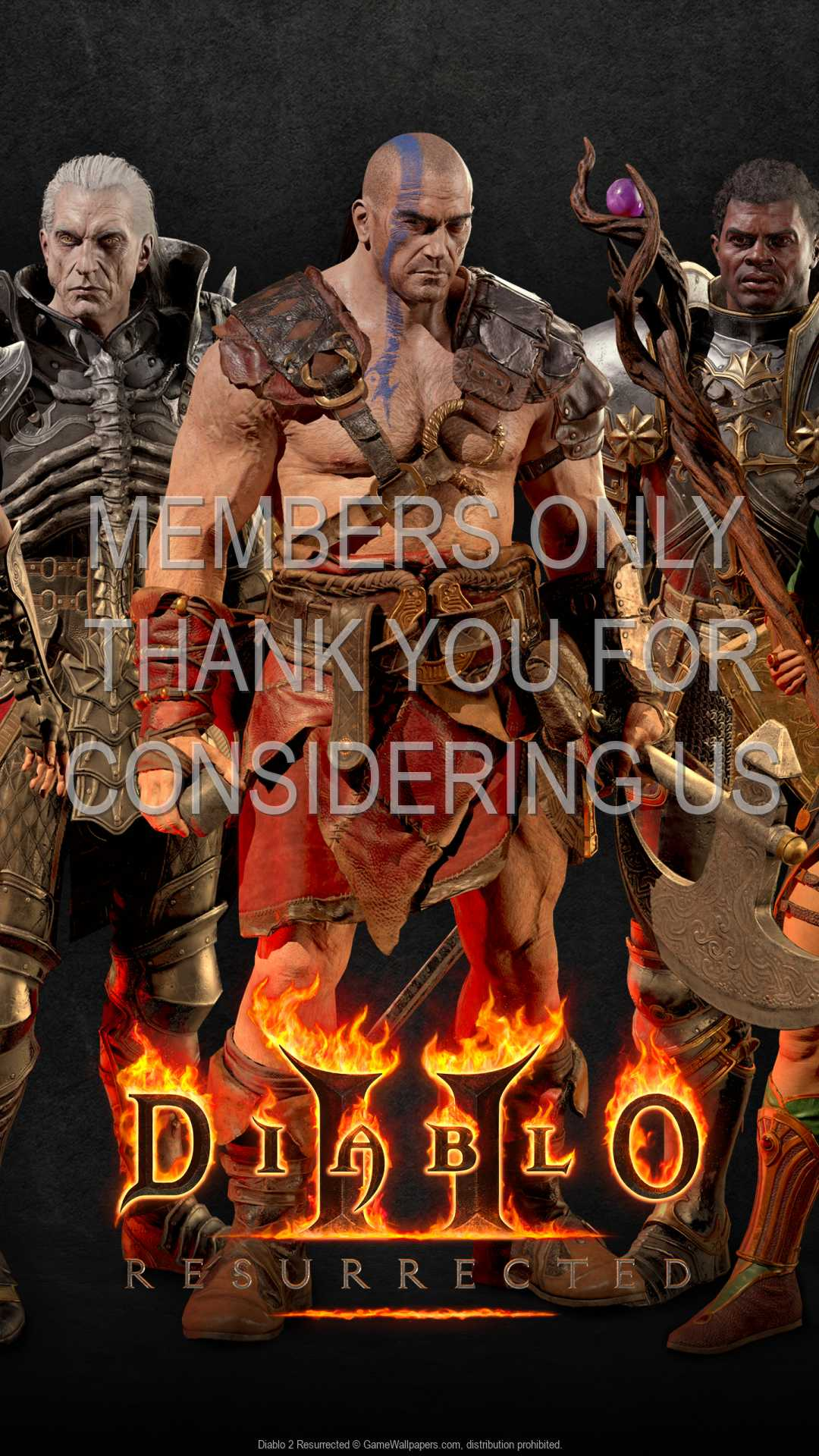 Diablo 2: Resurrected 1080p Vertical Mobile wallpaper or background 03
