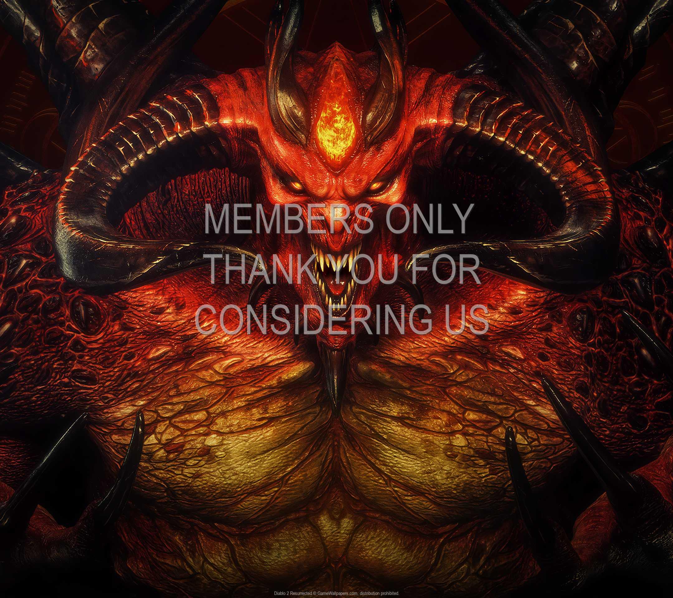 Diablo 2: Resurrected 1080p Horizontal Mobiele achtergrond 05