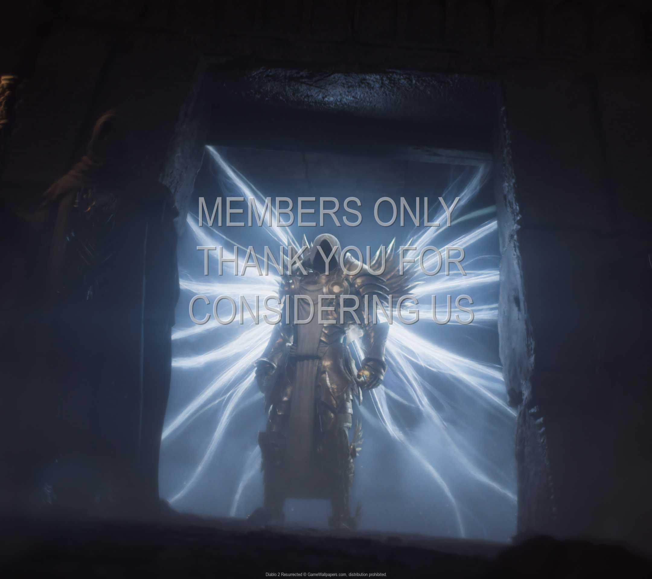 Diablo 2: Resurrected 1080p Horizontal Handy Hintergrundbild 06