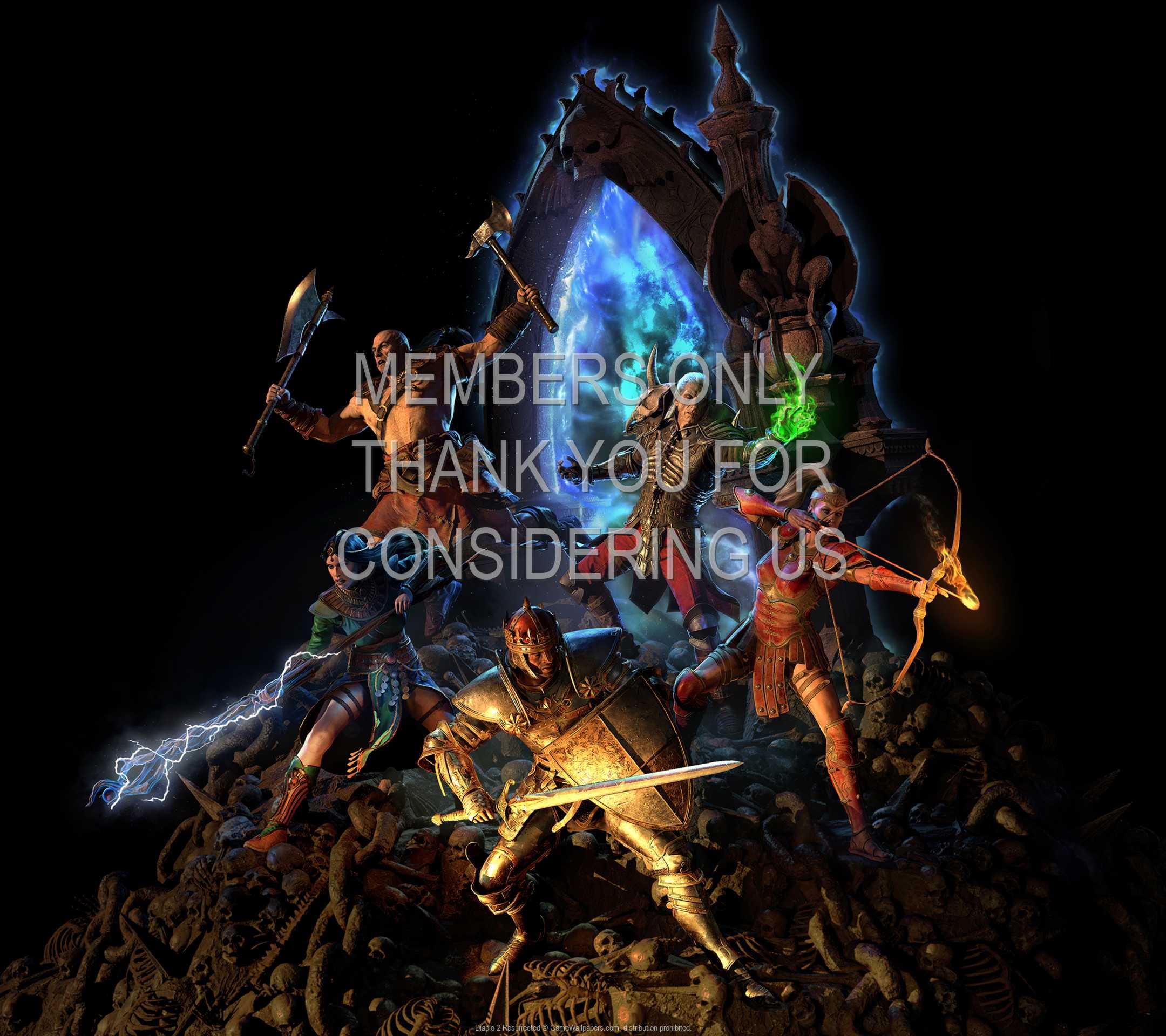 Diablo 2: Resurrected 1080p Horizontal Mobile wallpaper or background 07