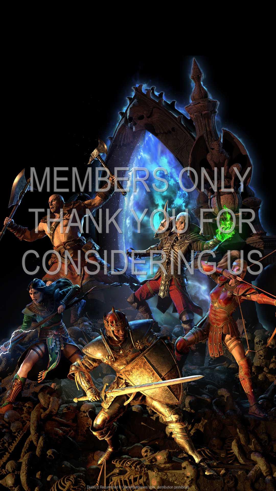 Diablo 2: Resurrected 1080p Vertical Móvil fondo de escritorio 07