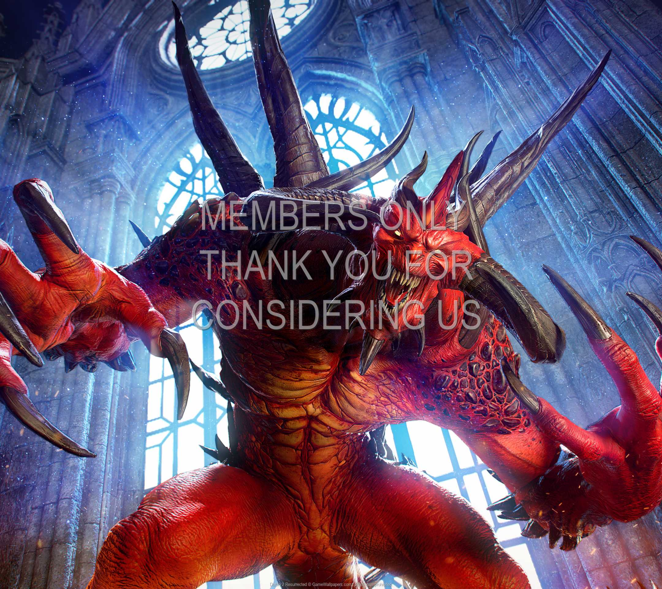 Diablo 2: Resurrected 1080p Horizontal Mobile fond d'écran 09