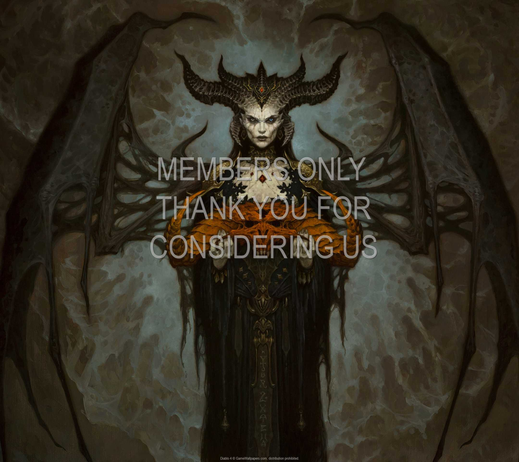 Diablo 4 1080p Horizontal Handy Hintergrundbild 04