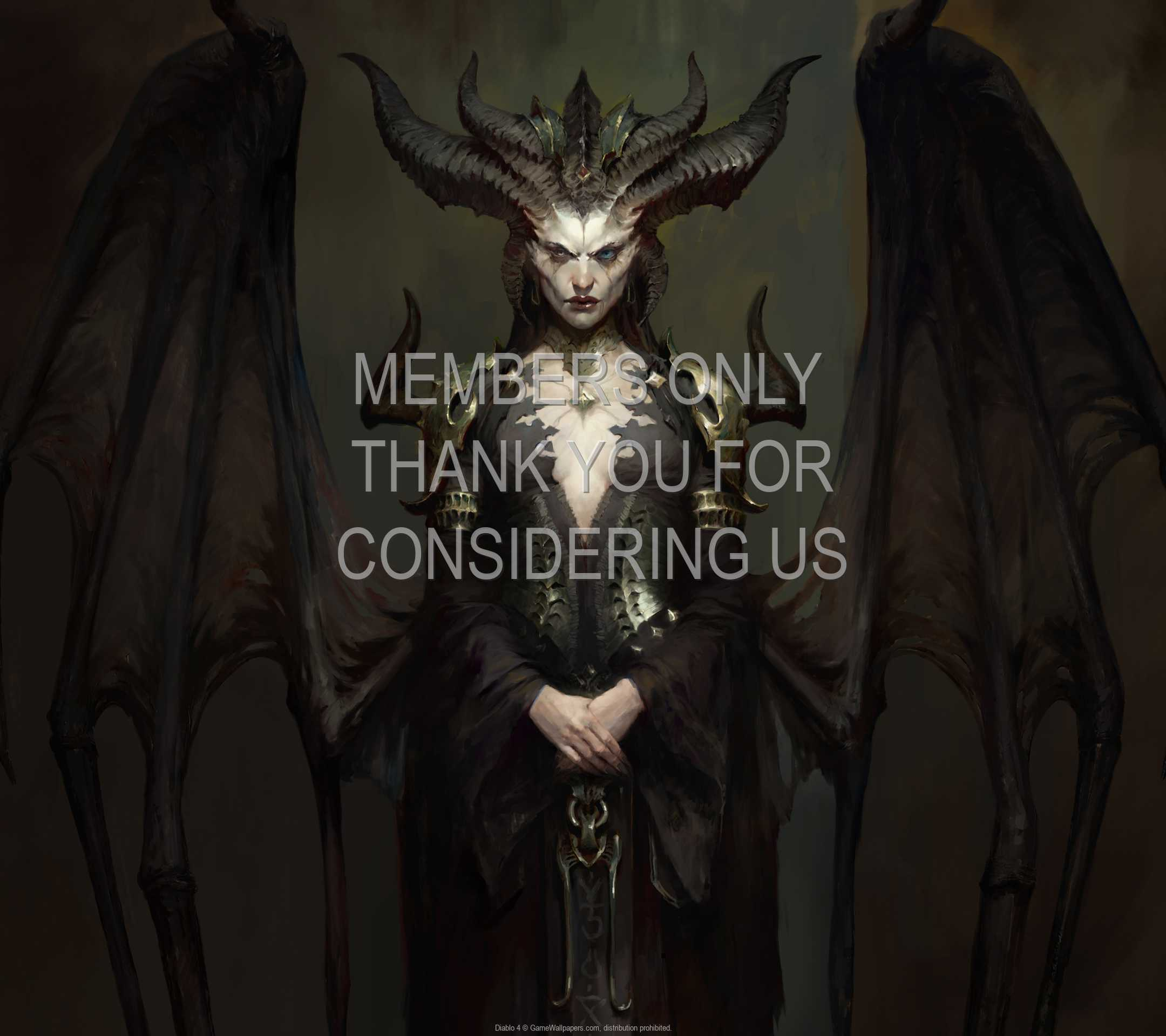 Diablo 4 1080p Horizontal Handy Hintergrundbild 07