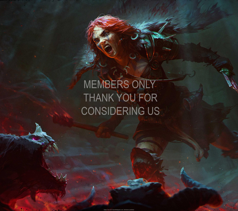 Diablo 4 fan art 1440p Horizontal Handy Hintergrundbild 01