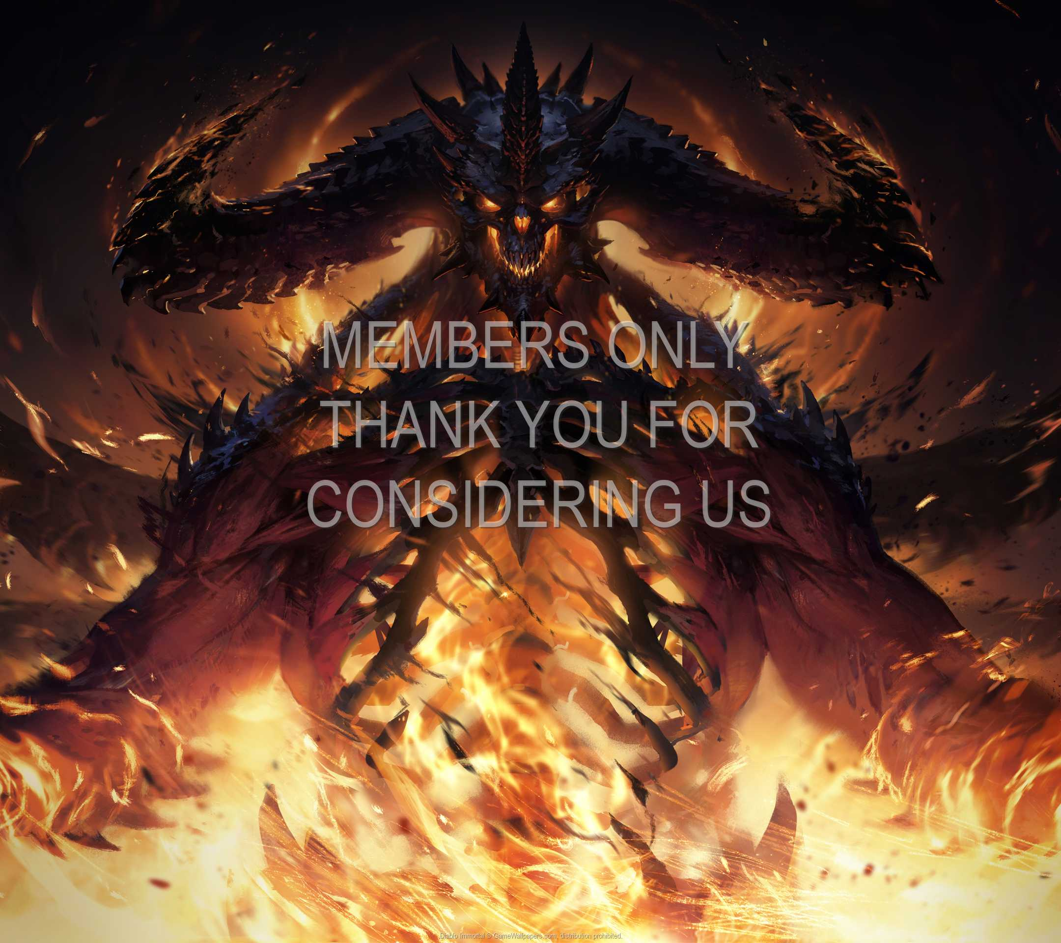 Diablo Immortal 1080p Horizontal Mobile wallpaper or background 01