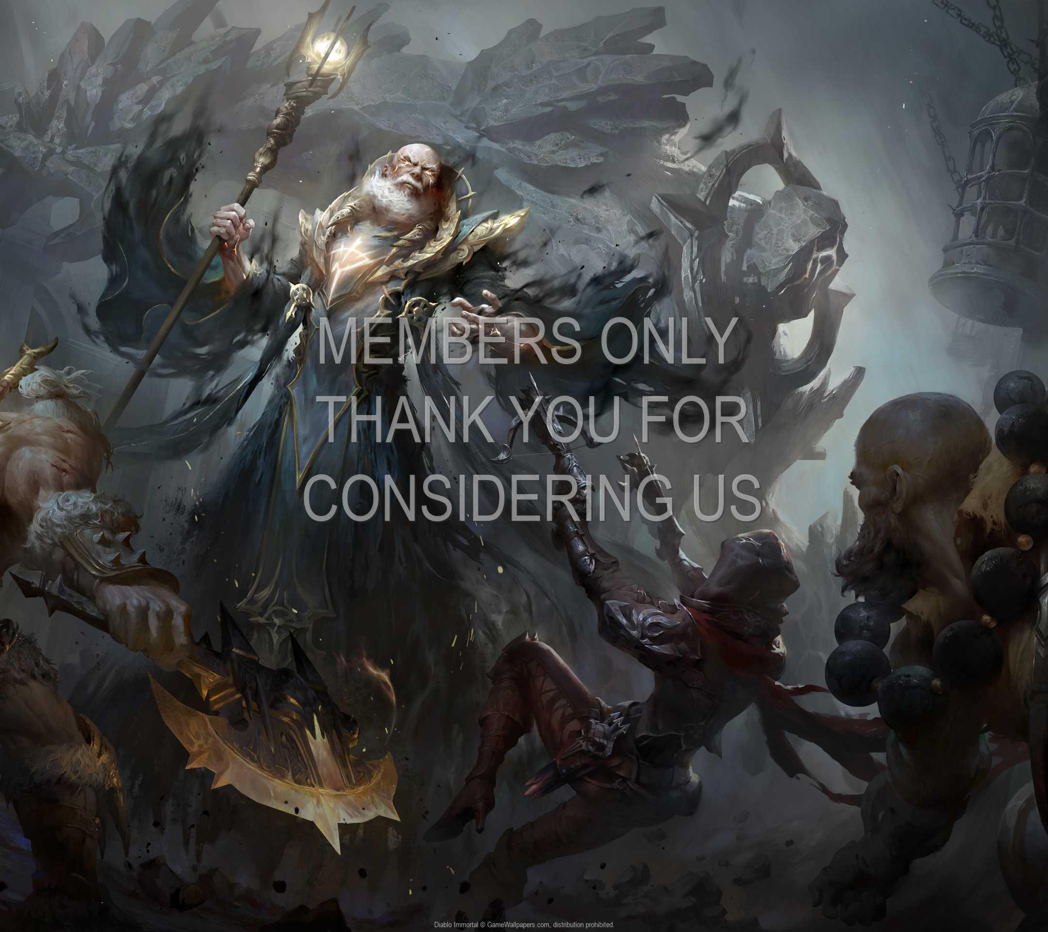 Diablo Immortal 1080p Horizontal Mobile wallpaper or background 02